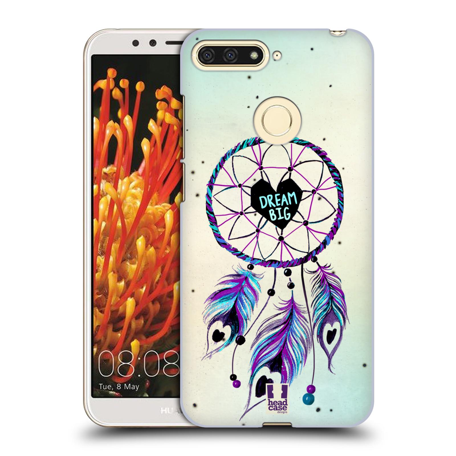 Plastové pouzdro na mobil Huawei Y6 Prime 2018 - Head Case - Lapač Assorted Dream Big Srdce