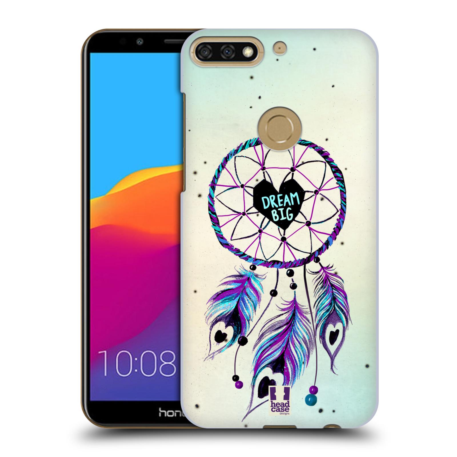 Plastové pouzdro na mobil Huawei Y7 Prime 2018 - Head Case - Lapač Assorted Dream Big Srdce