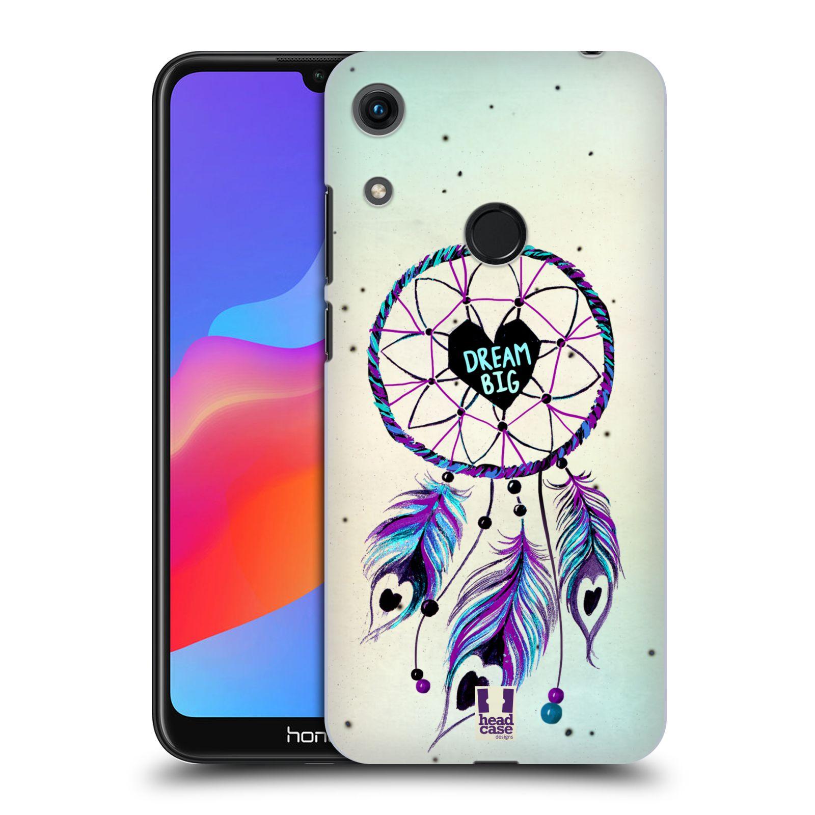 Plastové pouzdro na mobil Honor 8A - Head Case - Lapač Assorted Dream Big Srdce