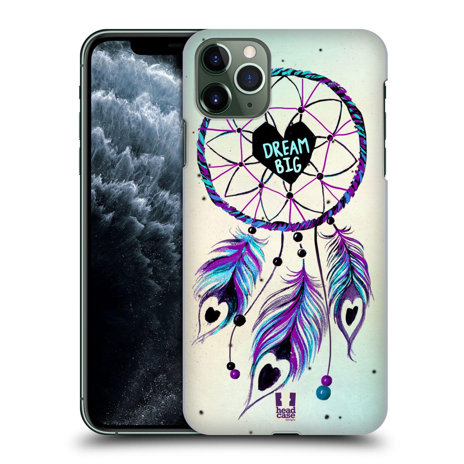 Plastové pouzdro na mobil Apple iPhone 11 Pro Max - Head Case - Lapač Assorted Dream Big Srdce