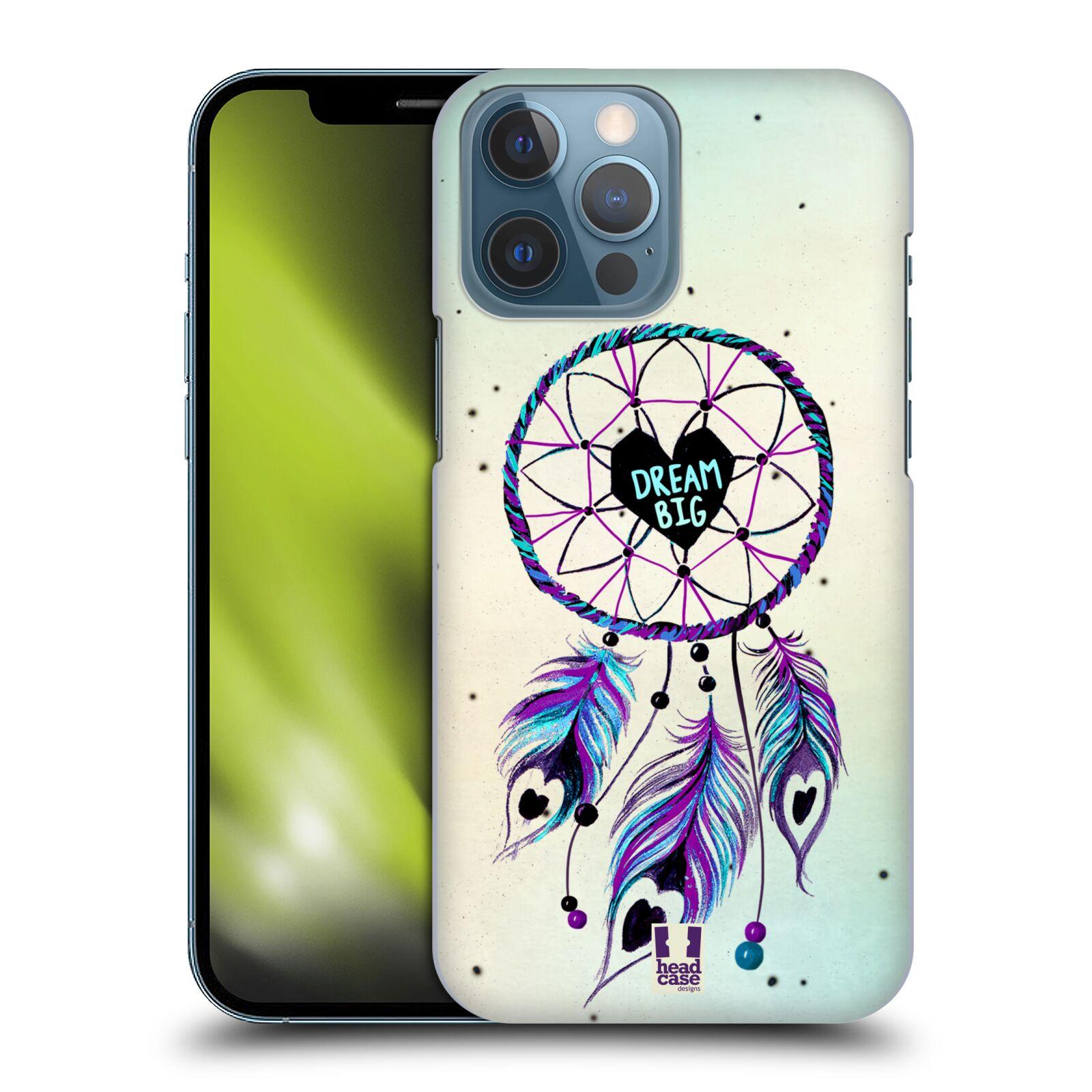 Plastové pouzdro na mobil Apple iPhone 13 Pro Max - Head Case - Lapač Assorted Dream Big Srdce