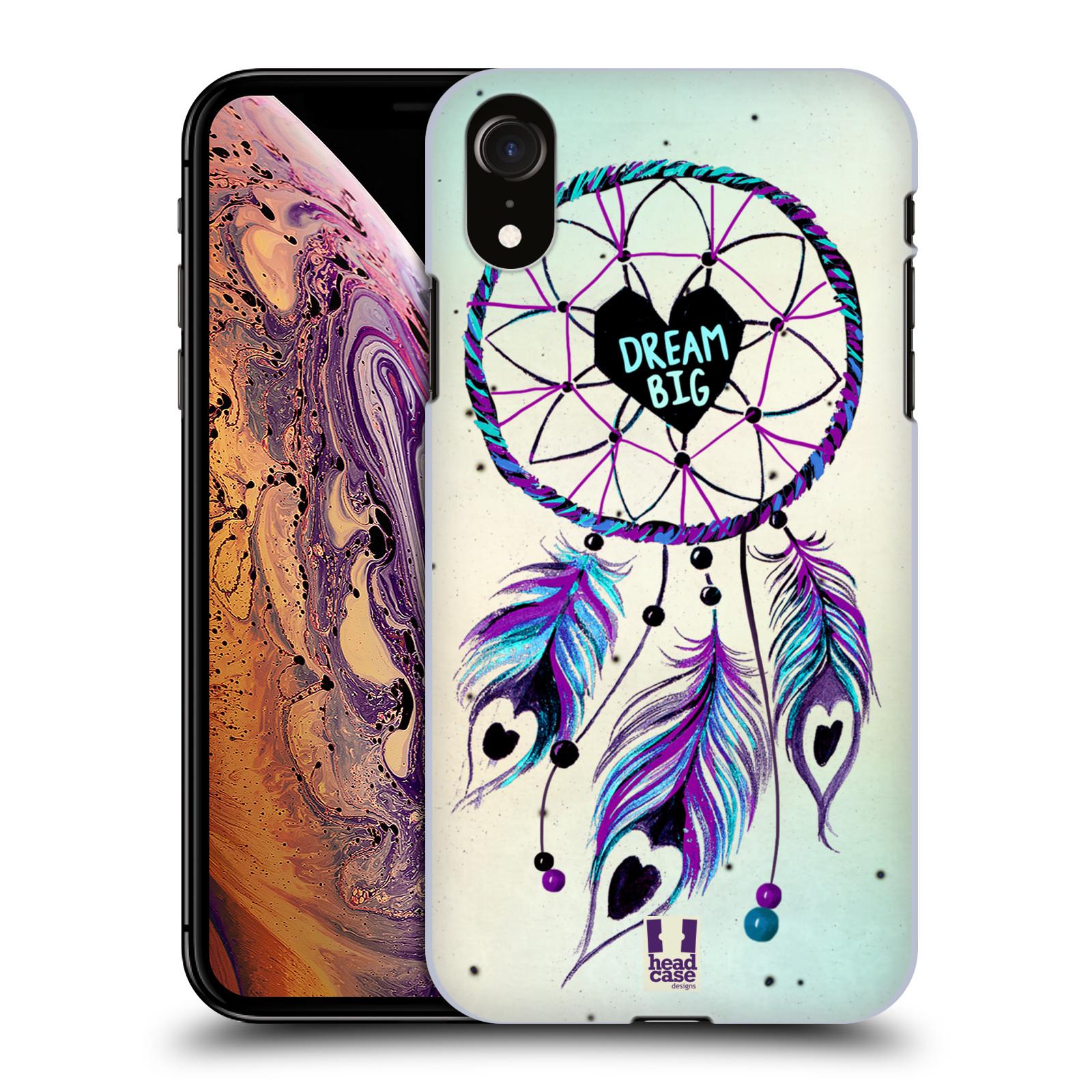 Plastové pouzdro na mobil Apple iPhone XR - Head Case - Lapač Assorted Dream Big Srdce