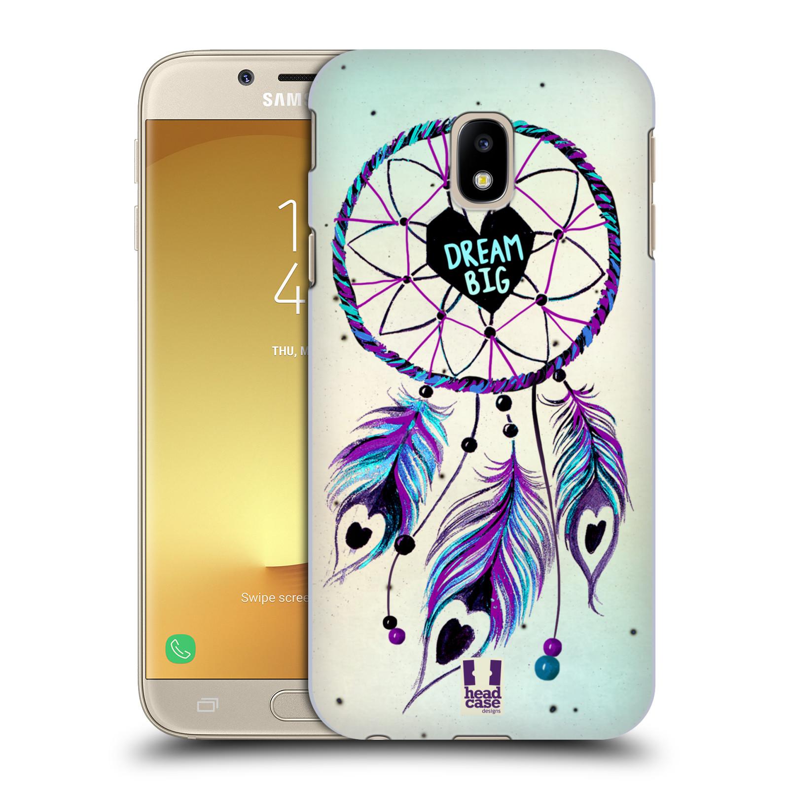 Plastové pouzdro na mobil Samsung Galaxy J3 (2017) - Head Case - Lapač Assorted Dream Big Srdce