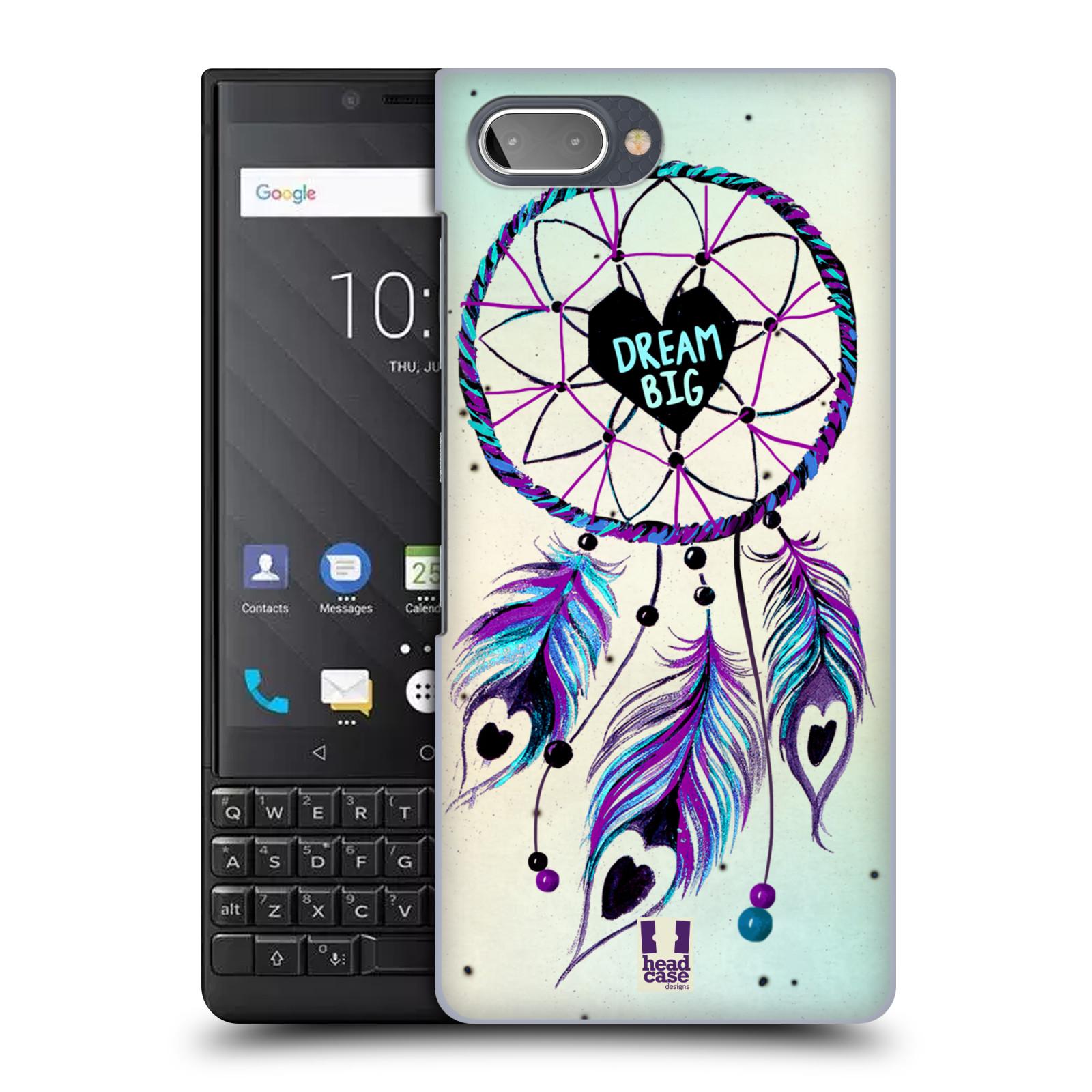 Plastové pouzdro na mobil Blackberry Key 2 - Head Case - Lapač Assorted Dream Big Srdce