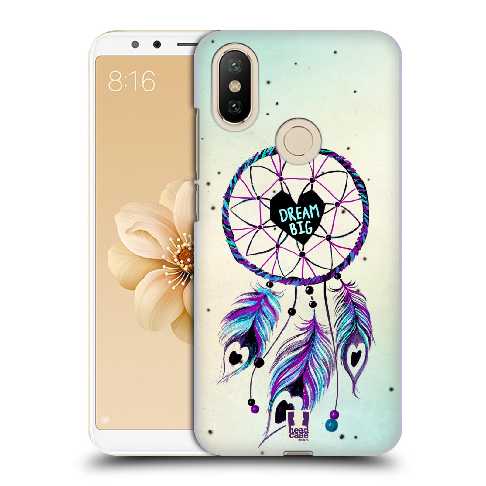 Plastové pouzdro na mobil Xiaomi Mi A2 - Head Case - Lapač Assorted Dream Big Srdce