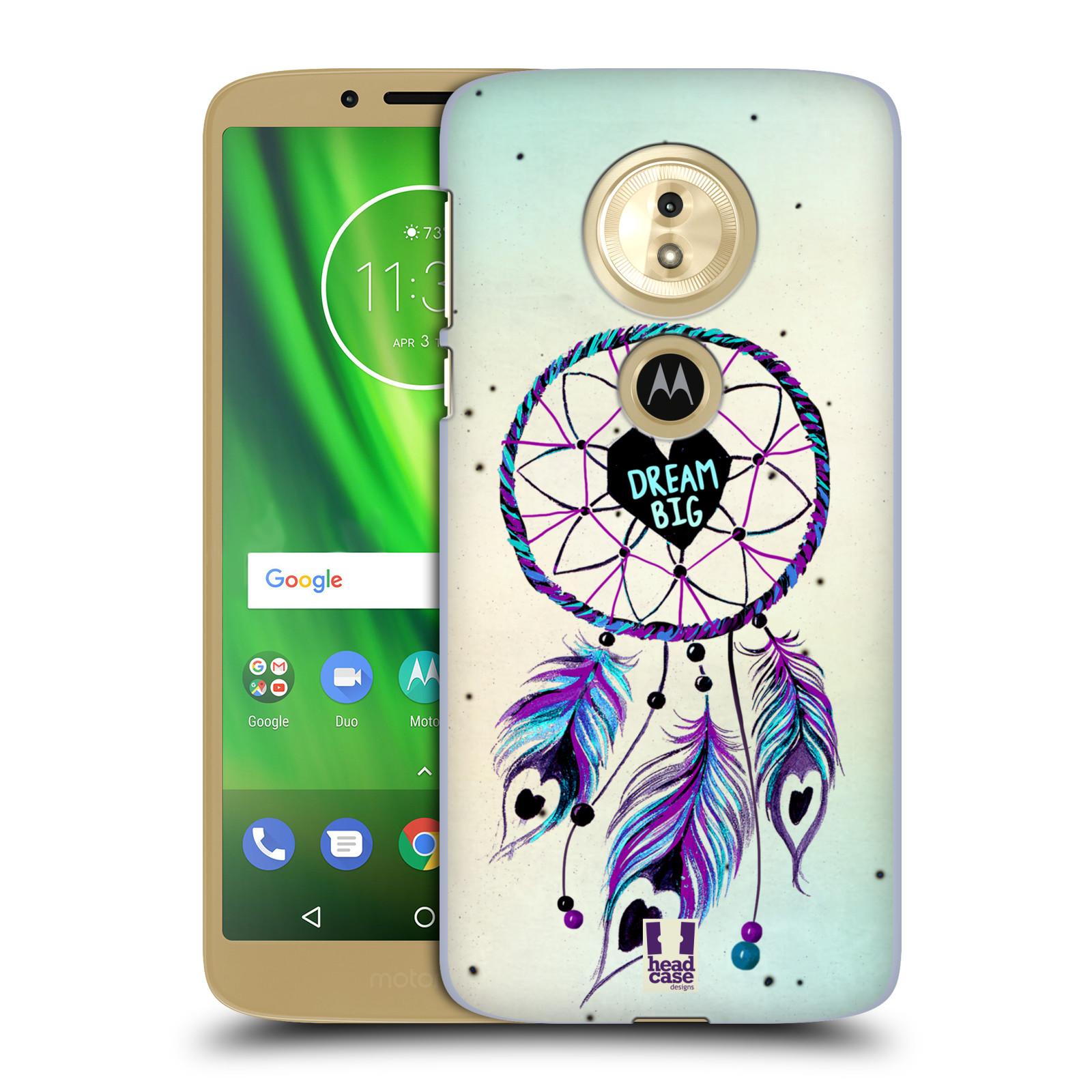 Plastové pouzdro na mobil Motorola Moto G6 Play - Head Case - Lapač Assorted Dream Big Srdce