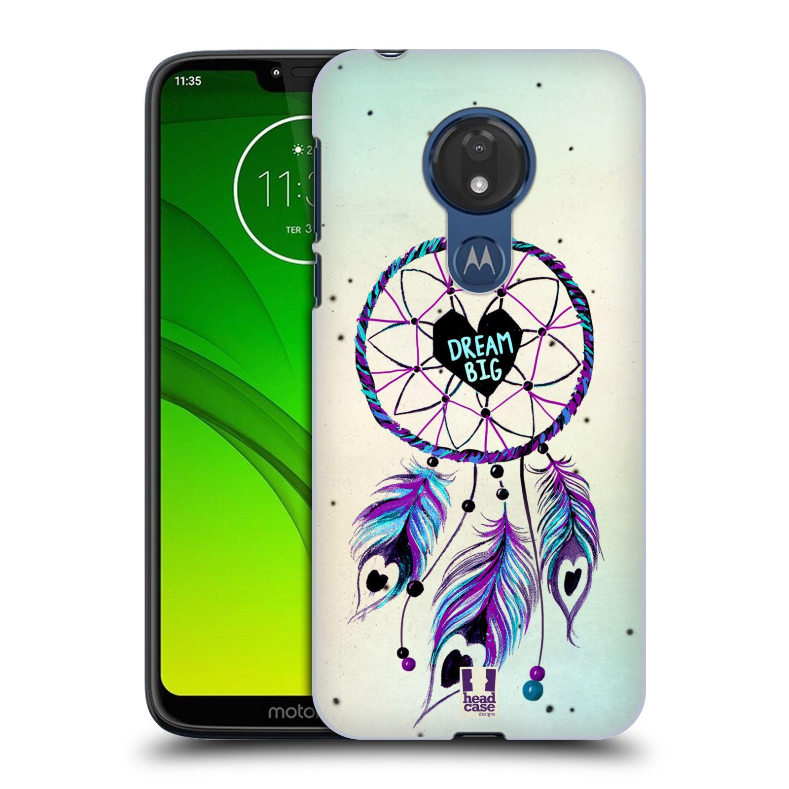 Plastové pouzdro na mobil Motorola Moto G7 Power - Head Case - Lapač Assorted Dream Big Srdce