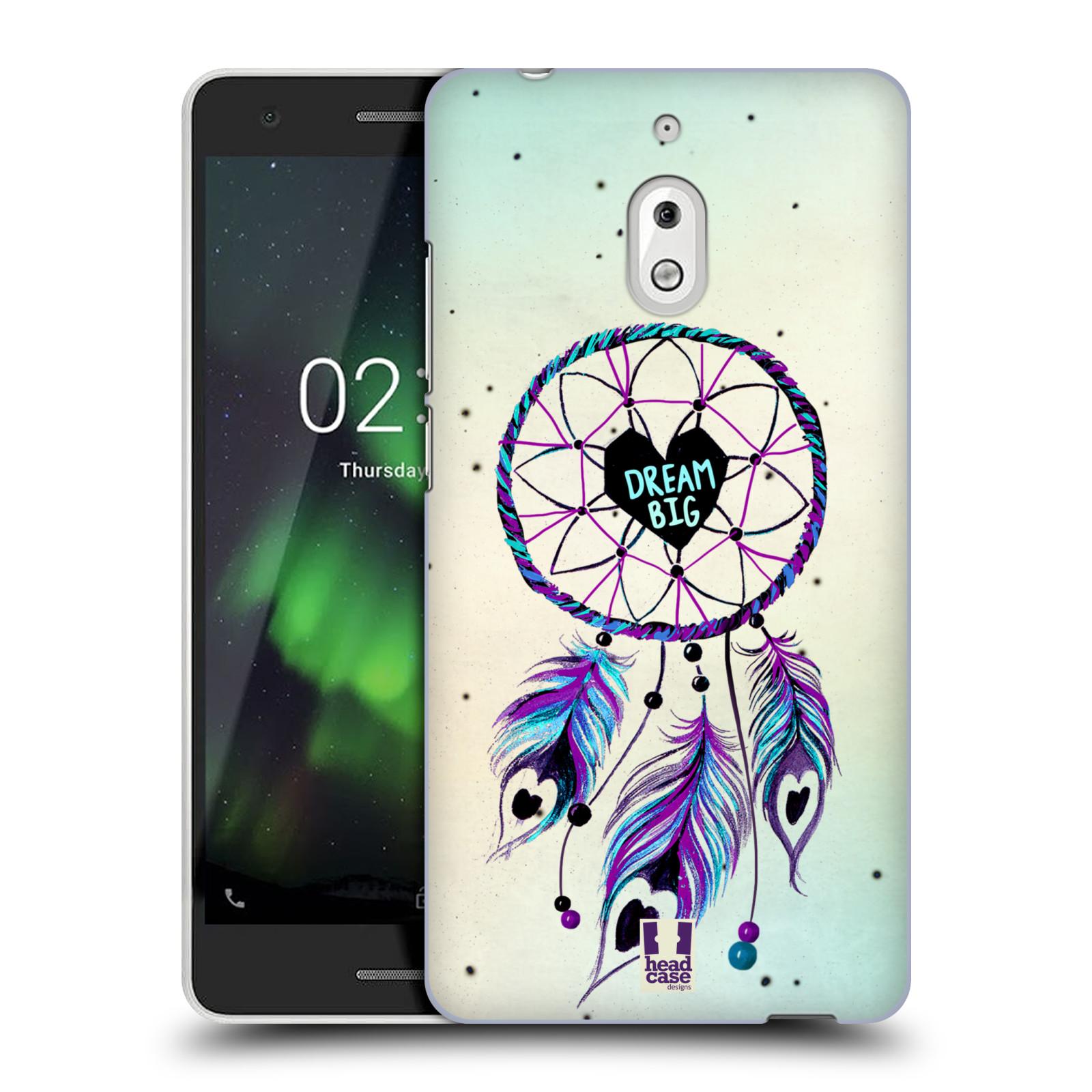 Plastové pouzdro na mobil Nokia 2.1 - Head Case - Lapač Assorted Dream Big Srdce