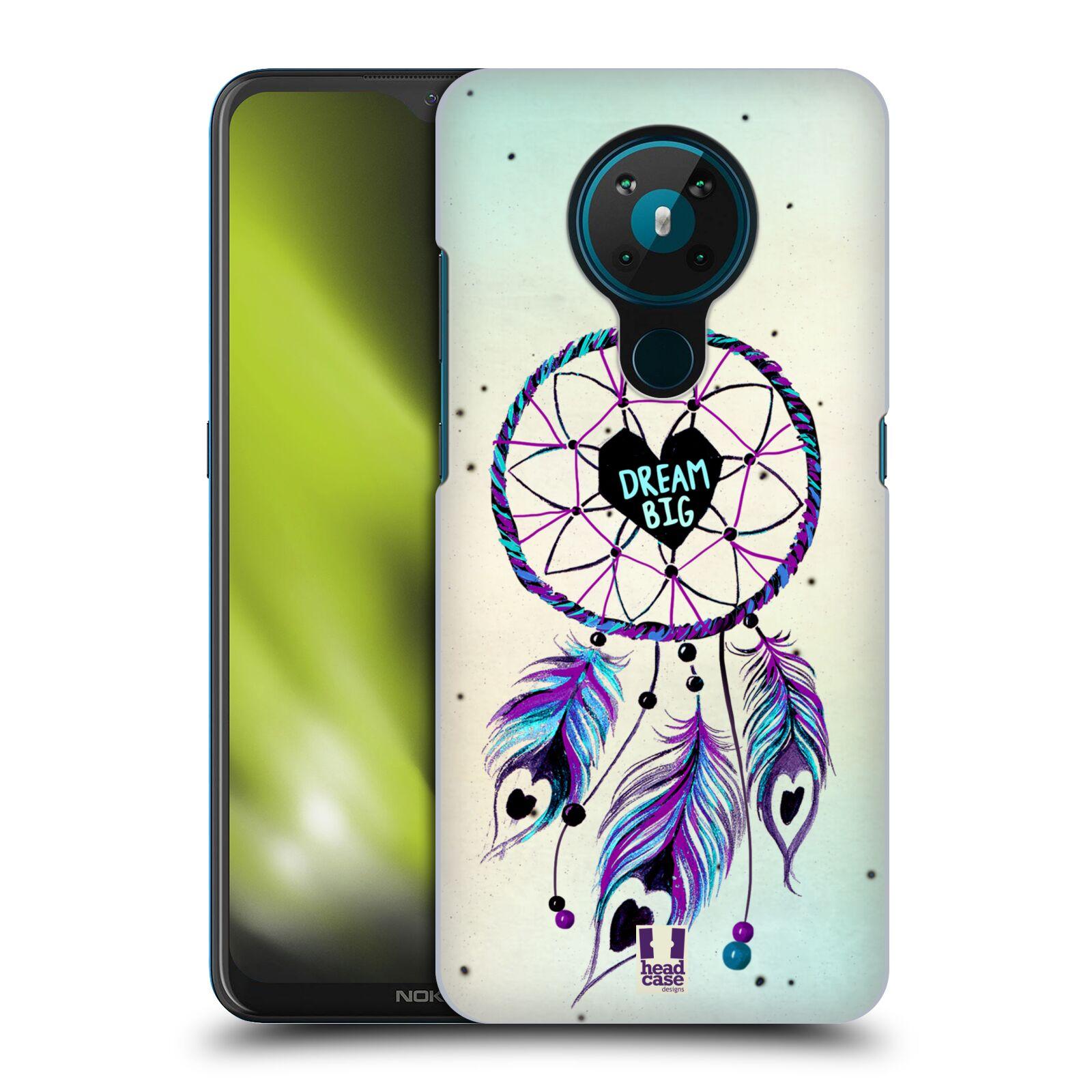 Plastové pouzdro na mobil Nokia 5.3 - Head Case - Lapač Assorted Dream Big Srdce