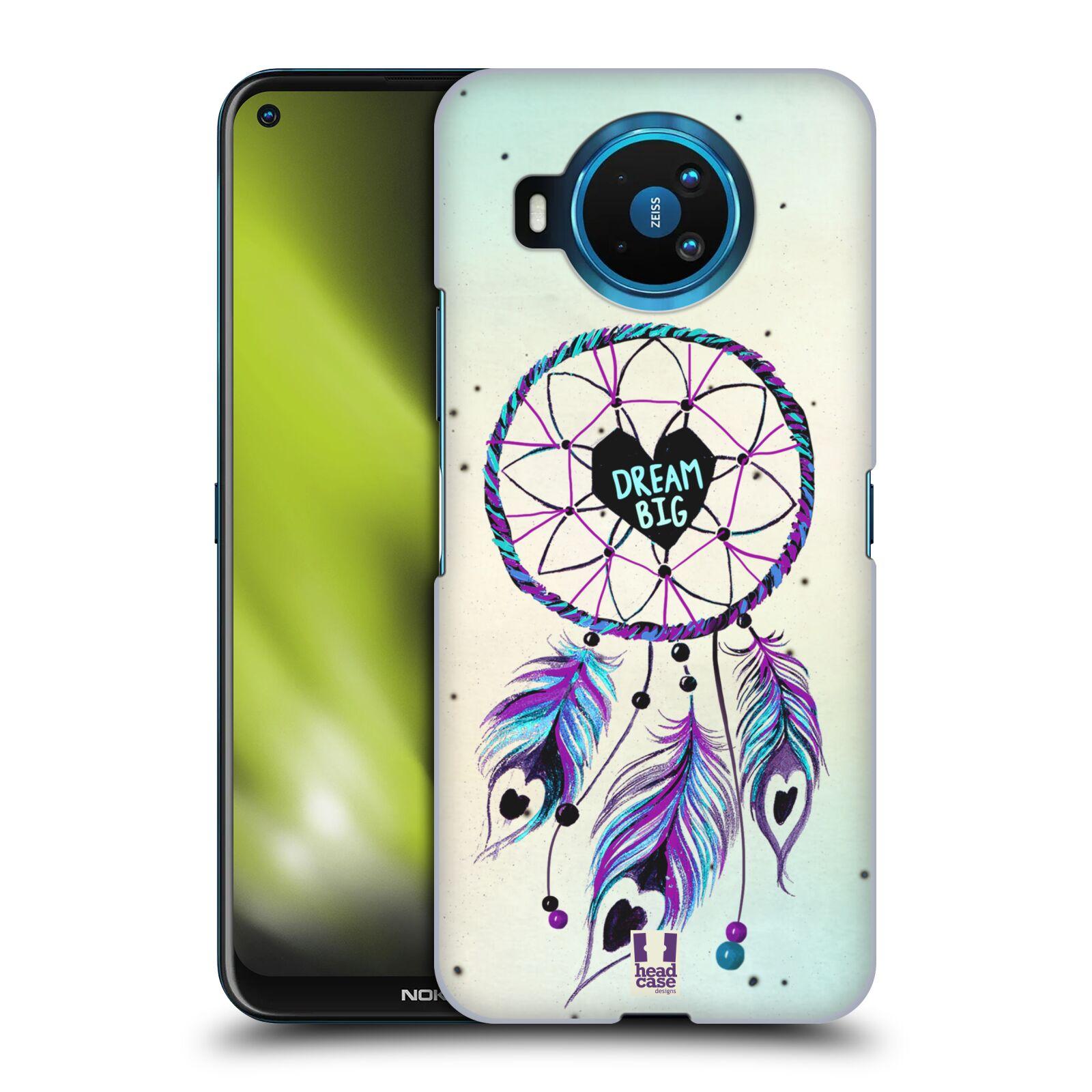 Plastové pouzdro na mobil Nokia 8.3 5G - Head Case - Lapač Assorted Dream Big Srdce