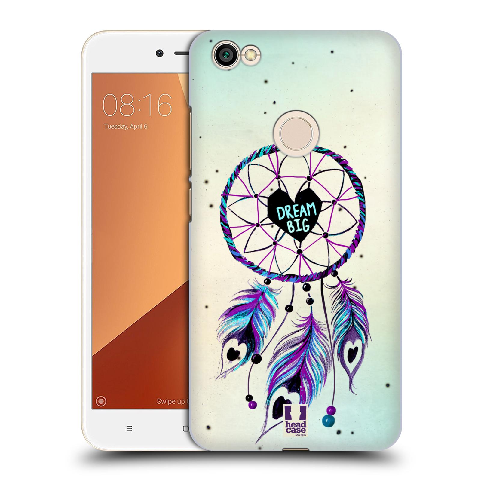 Plastové pouzdro na mobil Xiaomi Redmi Note 5A Head Case Lapač Assorted Dream Big Srdce