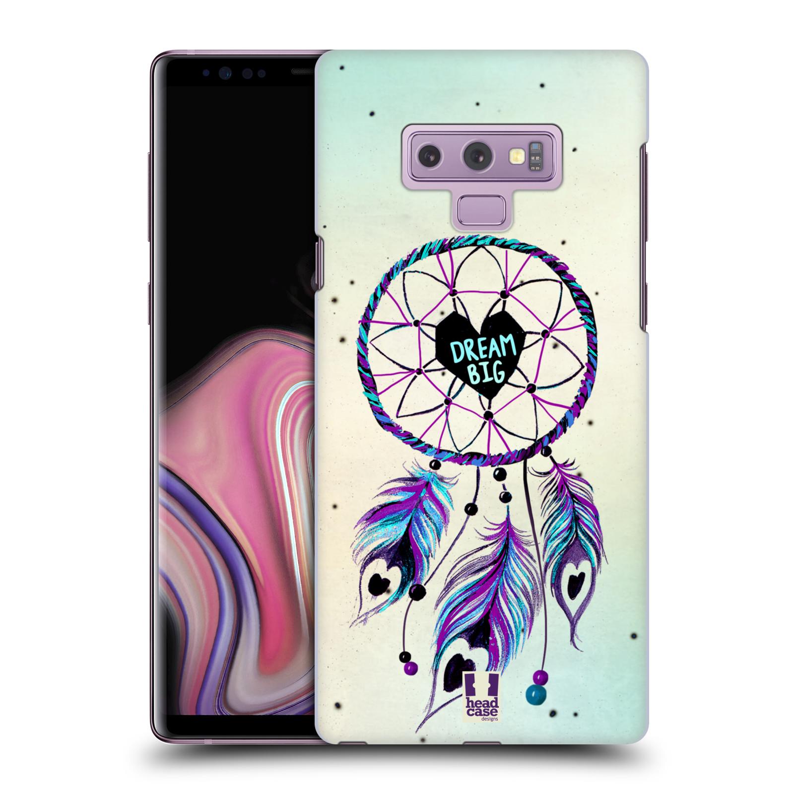 Plastové pouzdro na mobil Samsung Galaxy Note 9 - Head Case - Lapač Assorted Dream Big Srdce