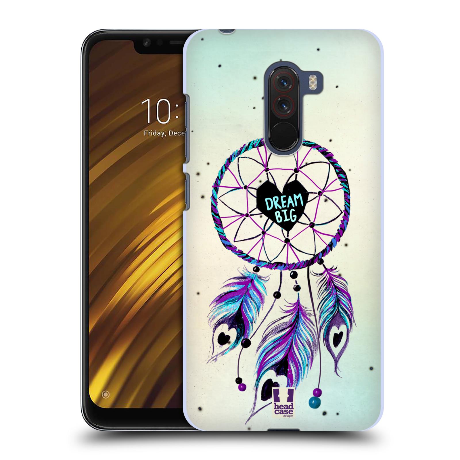Plastové pouzdro na mobil Xiaomi Pocophone F1 - Head Case - Lapač Assorted Dream Big Srdce
