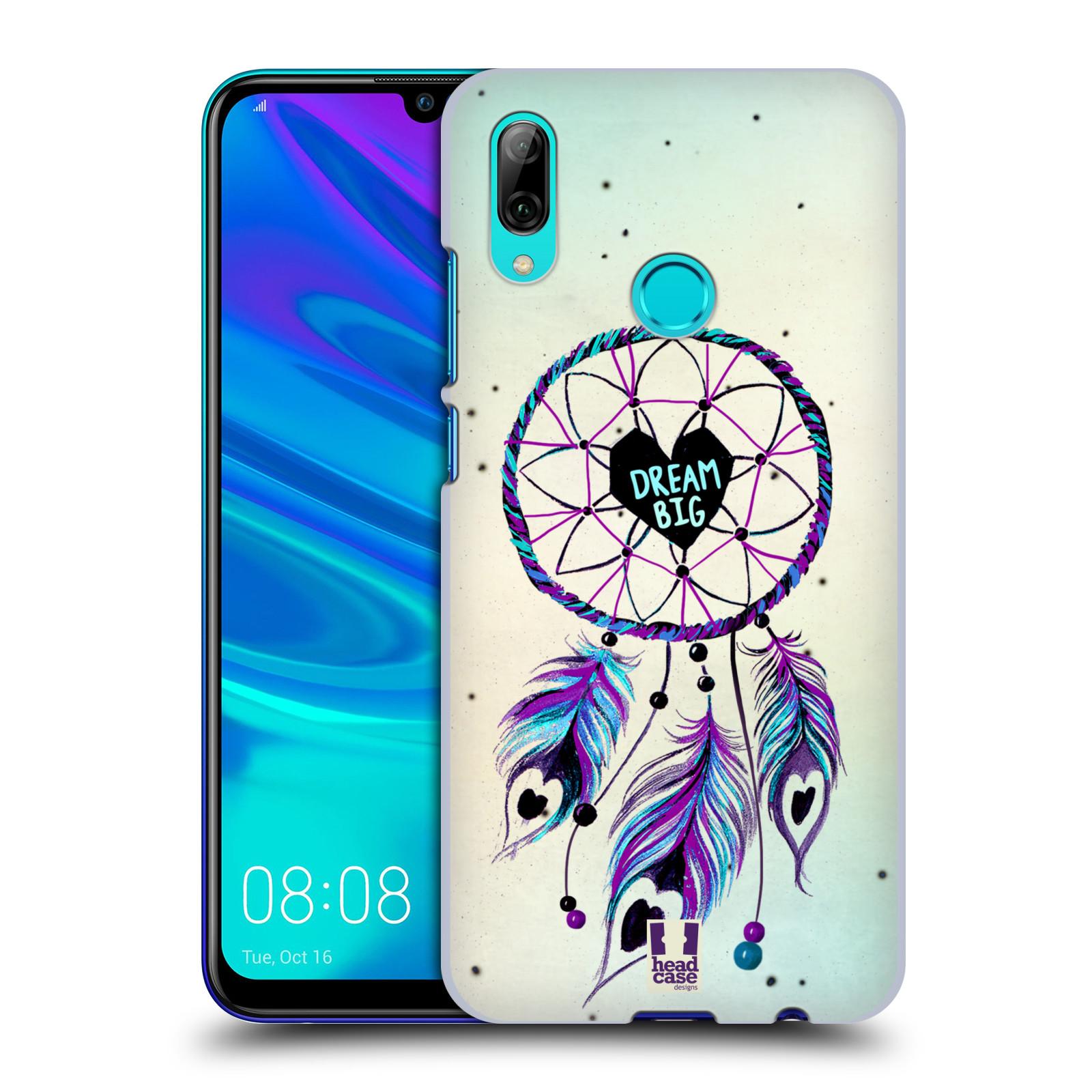 Plastové pouzdro na mobil Huawei P Smart (2019) - Head Case - Lapač Assorted Dream Big Srdce