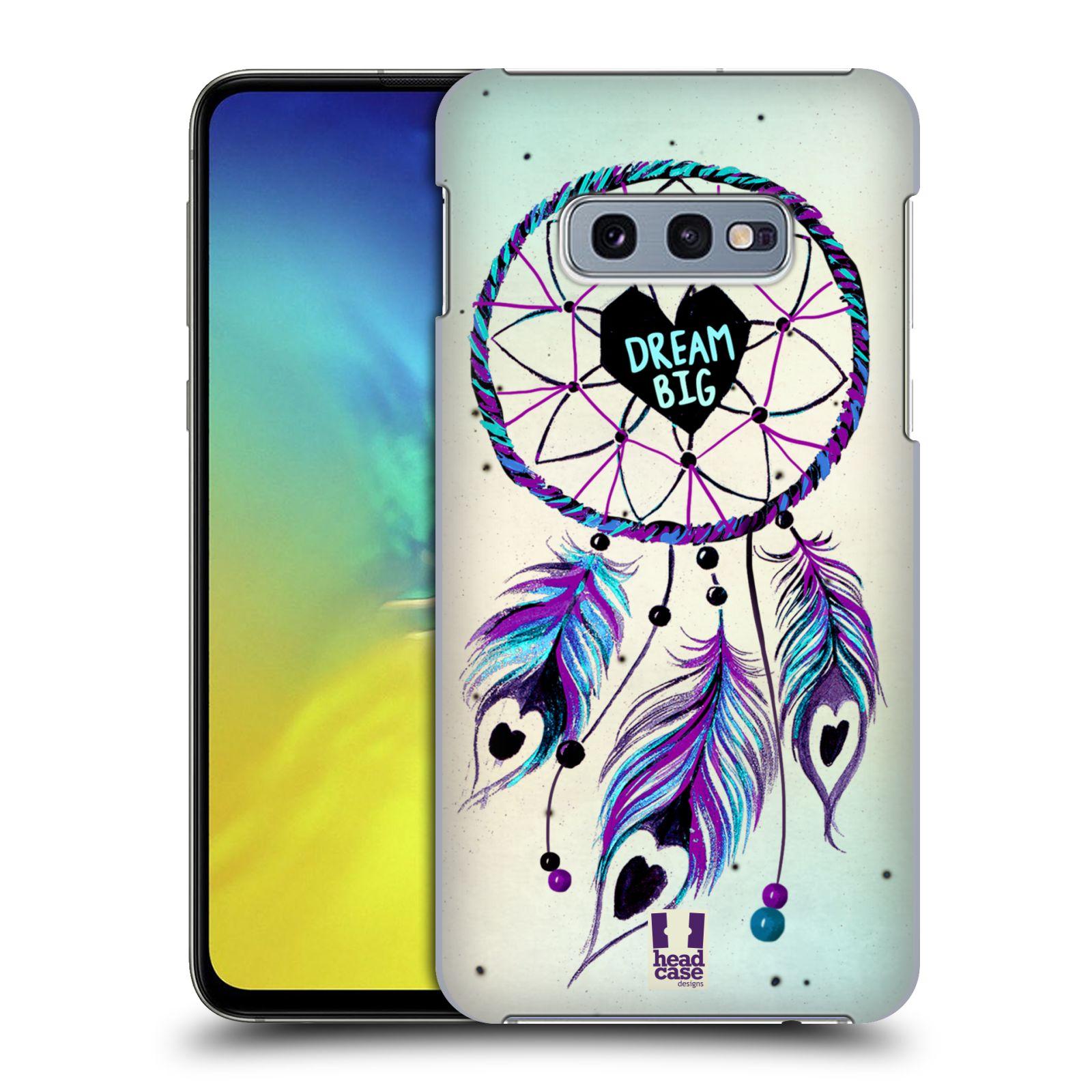Plastové pouzdro na mobil Samsung Galaxy S10e - Head Case - Lapač Assorted Dream Big Srdce