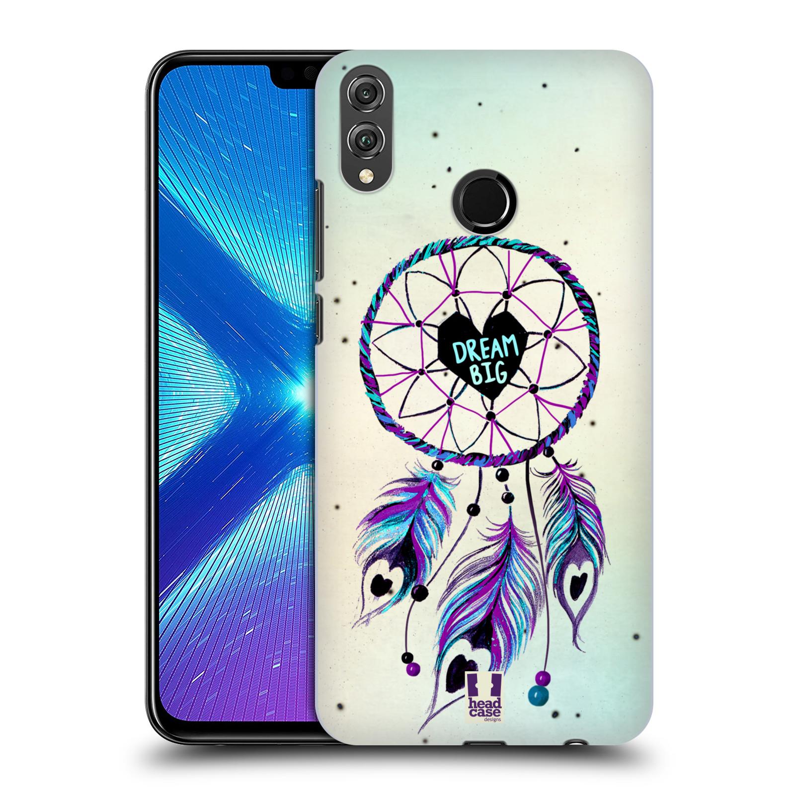 Plastové pouzdro na mobil Honor 8X - Head Case - Lapač Assorted Dream Big Srdce