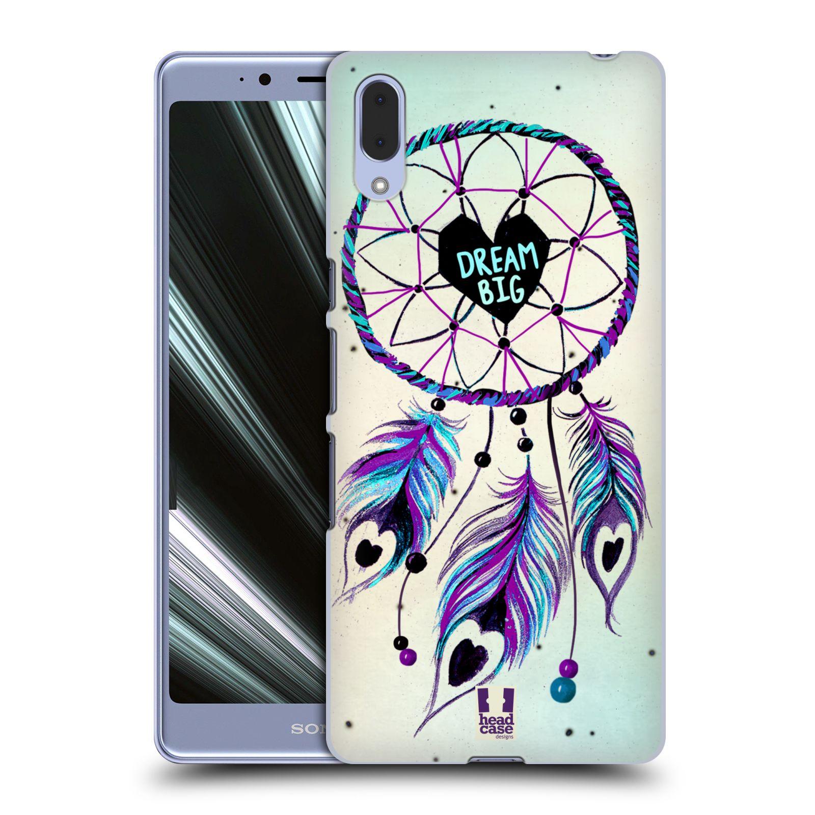 Plastové pouzdro na mobil Sony Xperia L3 - Head Case - Lapač Assorted Dream Big Srdce