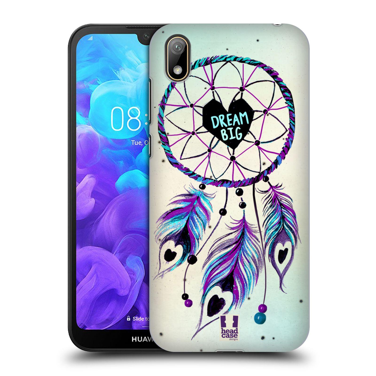 Plastové pouzdro na mobil Honor 8S - Head Case - Lapač Assorted Dream Big Srdce