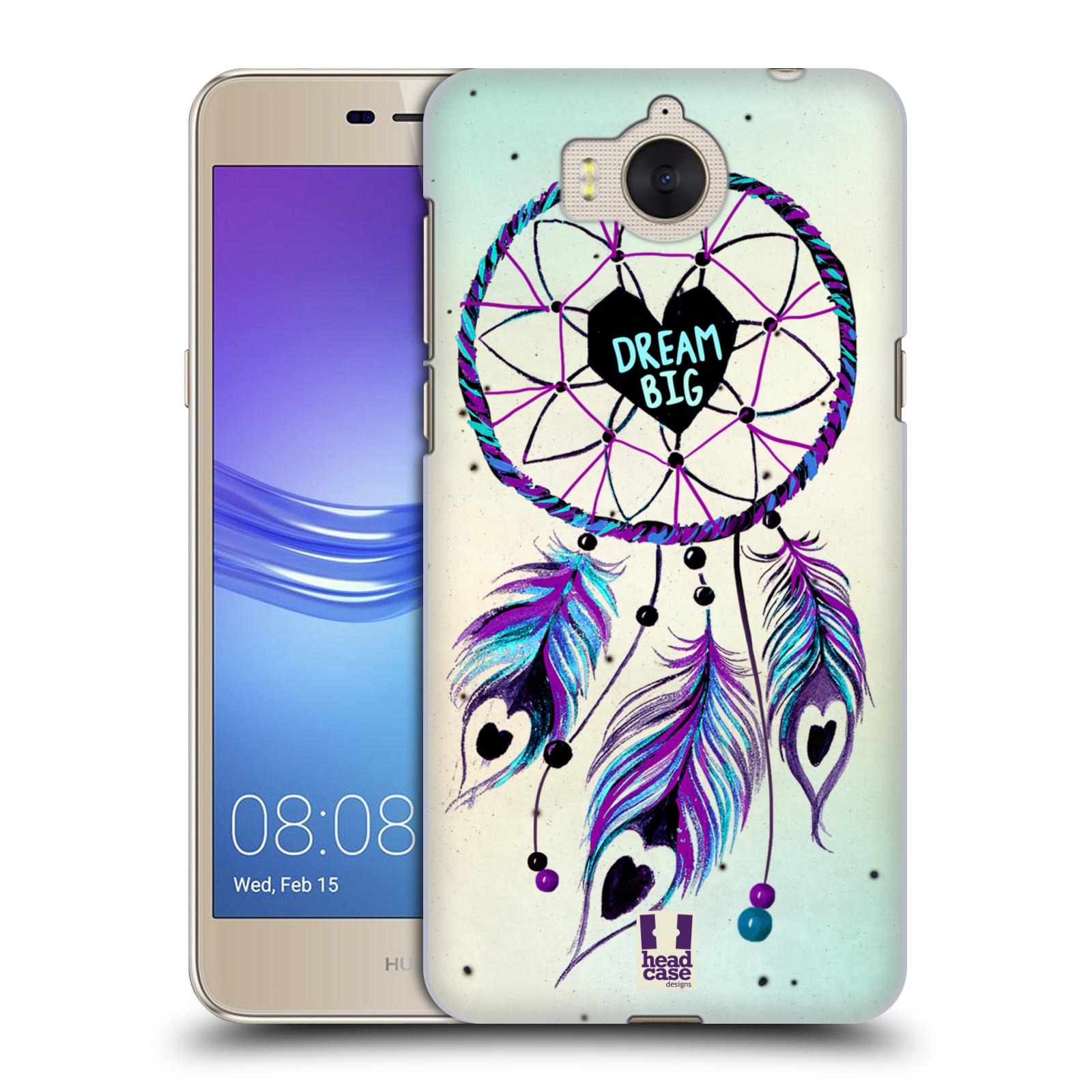 Plastové pouzdro na mobil Huawei Y6 2017 - Head Case - Lapač Assorted Dream Big Srdce