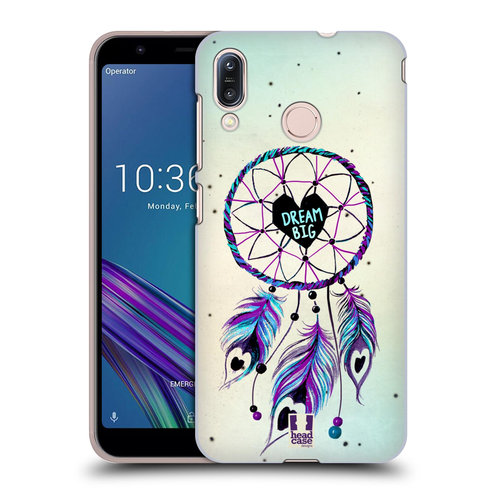 Plastové pouzdro na mobil Asus Zenfone Max M1 ZB555KL - Head Case - Lapač Assorted Dream Big Srdce