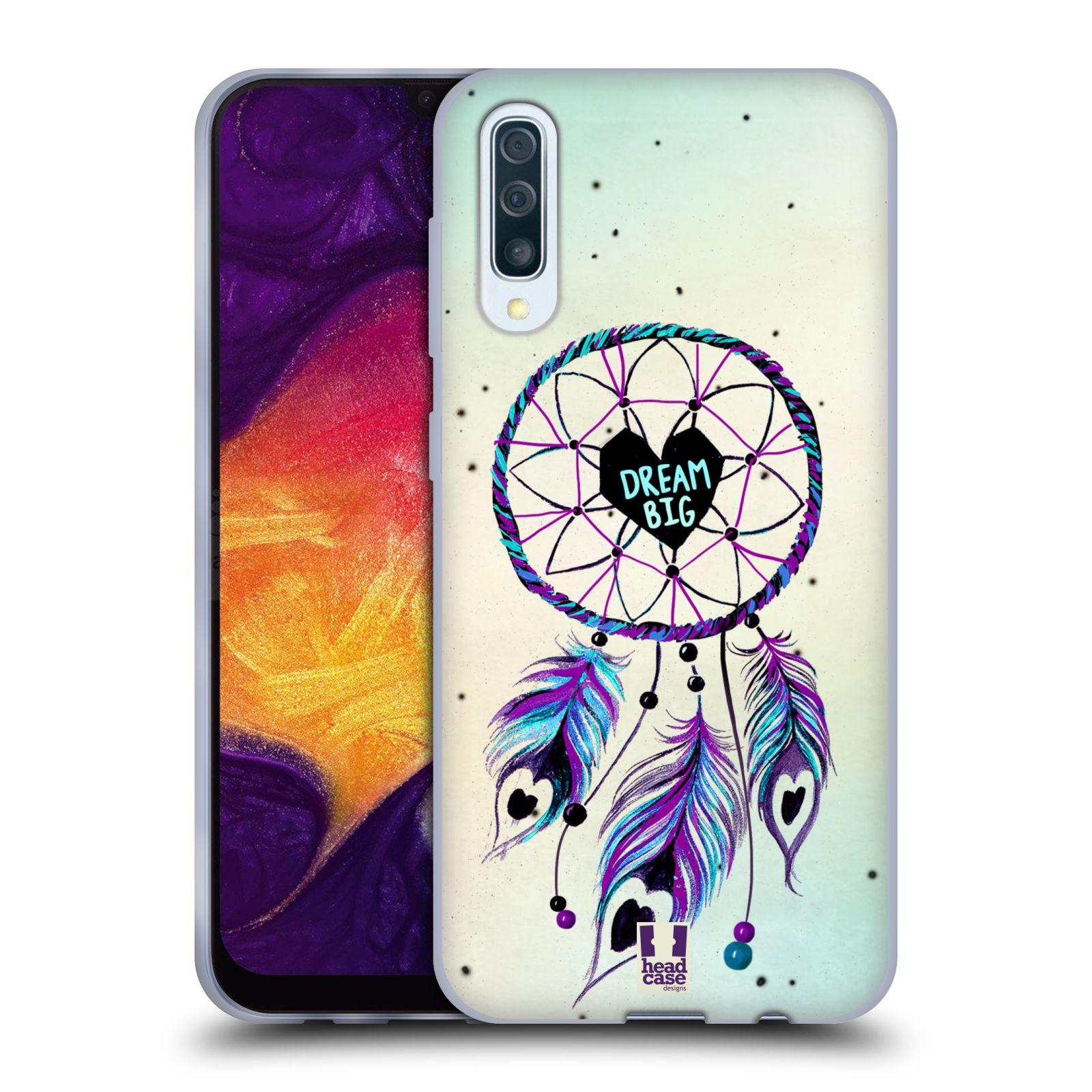 Silikonové pouzdro na mobil Samsung Galaxy A50 / A30s - Head Case - Lapač Assorted Dream Big Srdce