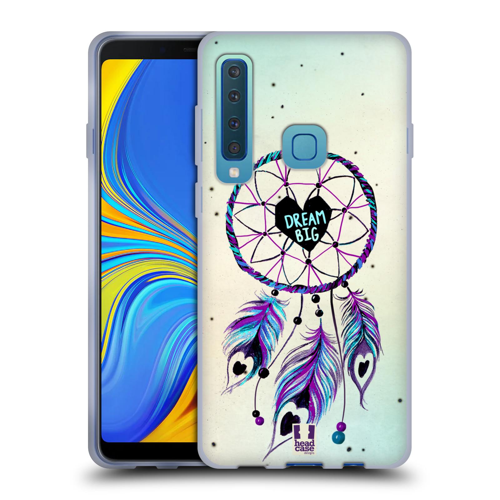 Silikonové pouzdro na mobil Samsung Galaxy A9 (2018) - Head Case - Lapač Assorted Dream Big Srdce