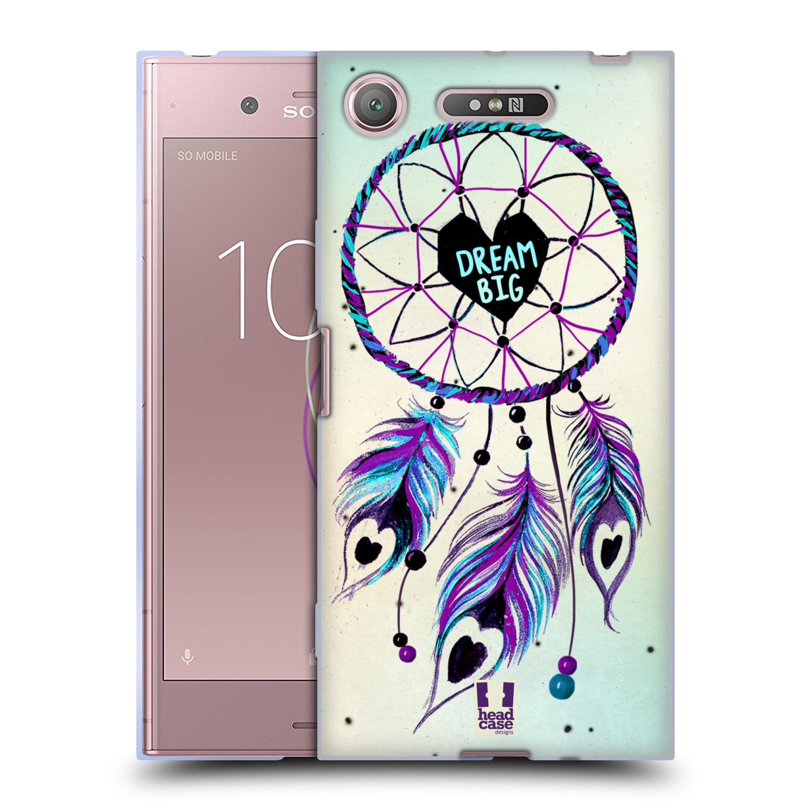 Silikonové pouzdro na mobil Sony Xperia XZ1 - Head Case - Lapač Assorted Dream Big Srdce