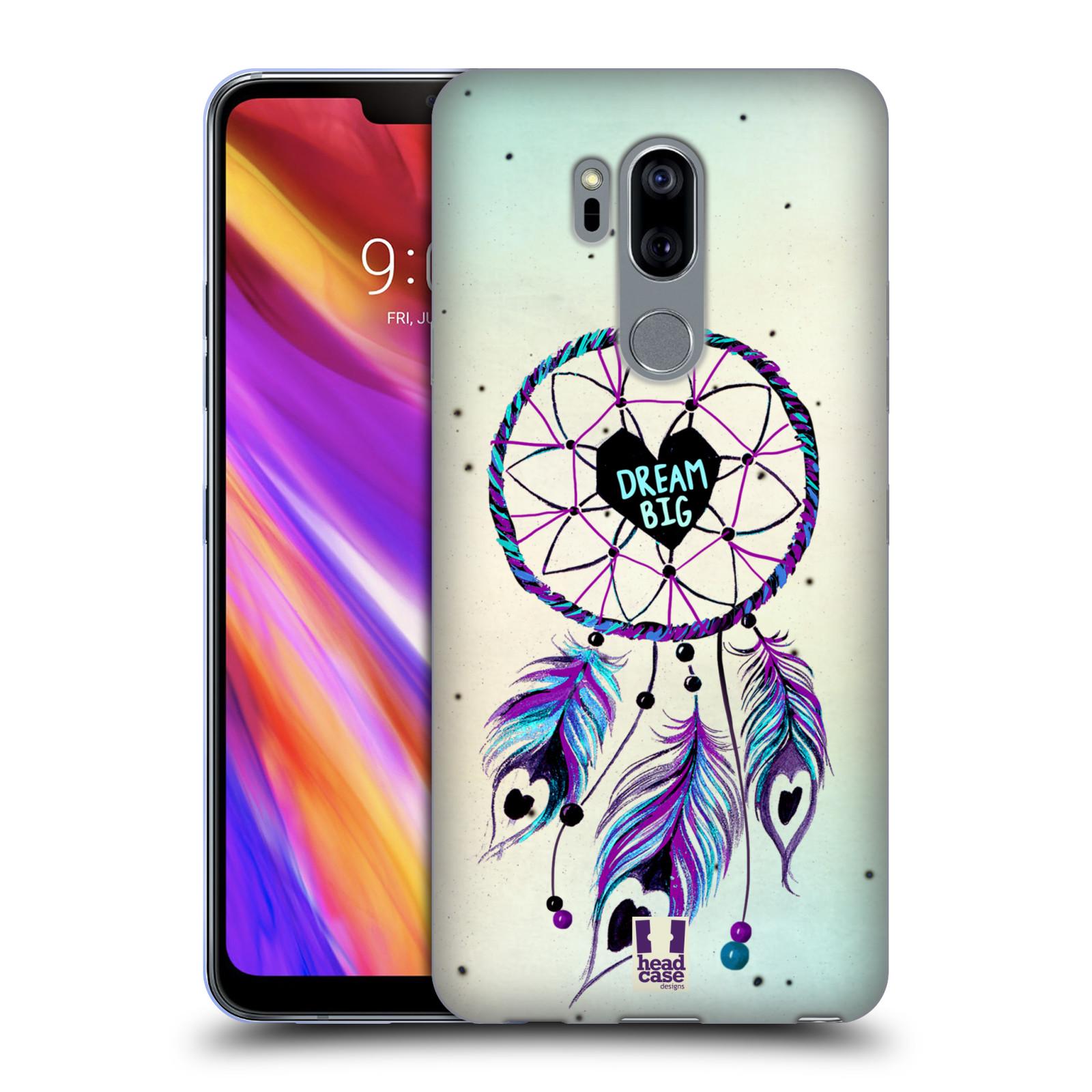 Silikonové pouzdro na mobil LG G7 ThinQ - Head Case - Lapač Assorted Dream Big Srdce
