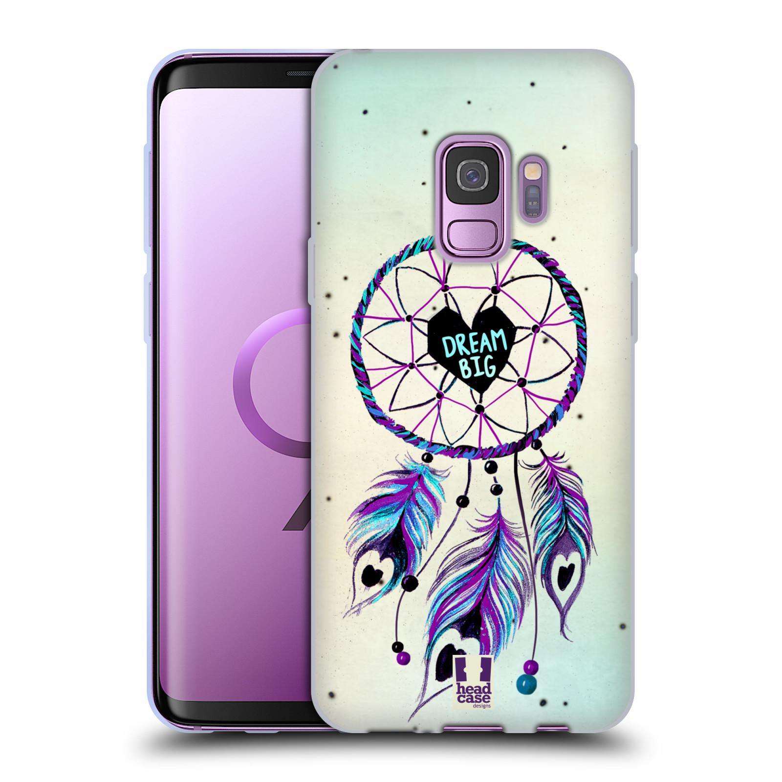 Silikonové pouzdro na mobil Samsung Galaxy S9 - Head Case - Lapač Assorted Dream Big Srdce