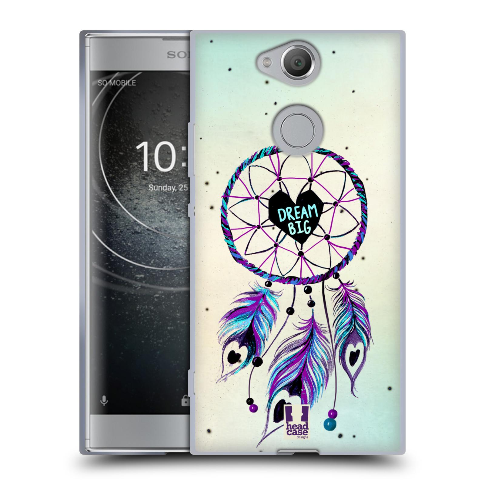 Silikonové pouzdro na mobil Sony Xperia XA2 - Head Case - Lapač Assorted Dream Big Srdce