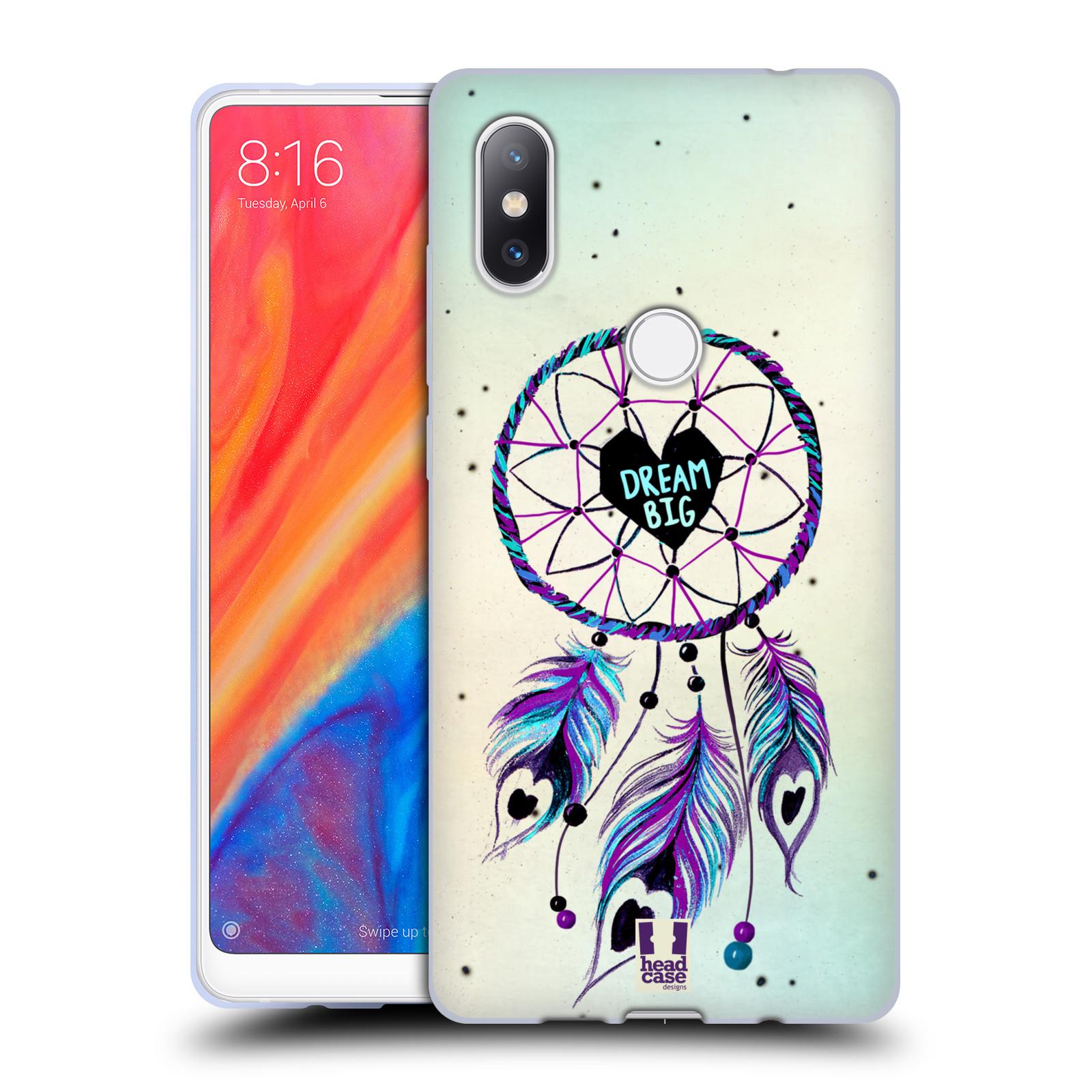 Silikonové pouzdro na mobil Xiaomi Mi Mix 2S - Head Case - Lapač Assorted Dream Big Srdce