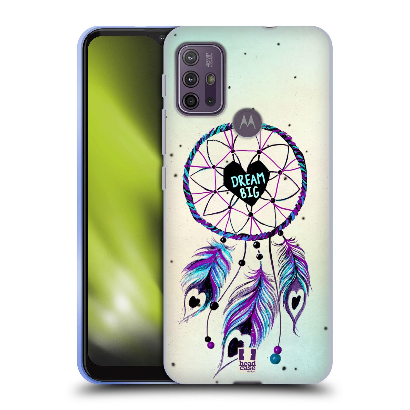 Silikonové pouzdro na mobil Motorola Moto G10 / G30 - Head Case - Lapač Assorted Dream Big Srdce