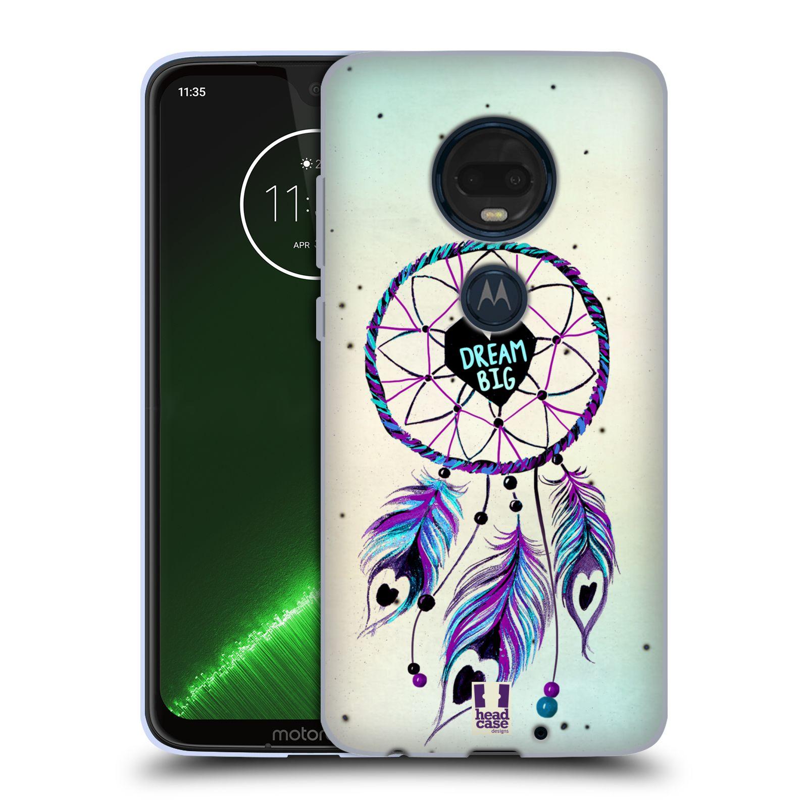 Silikonové pouzdro na mobil Motorola Moto G7 Plus - Head Case - Lapač Assorted Dream Big Srdce