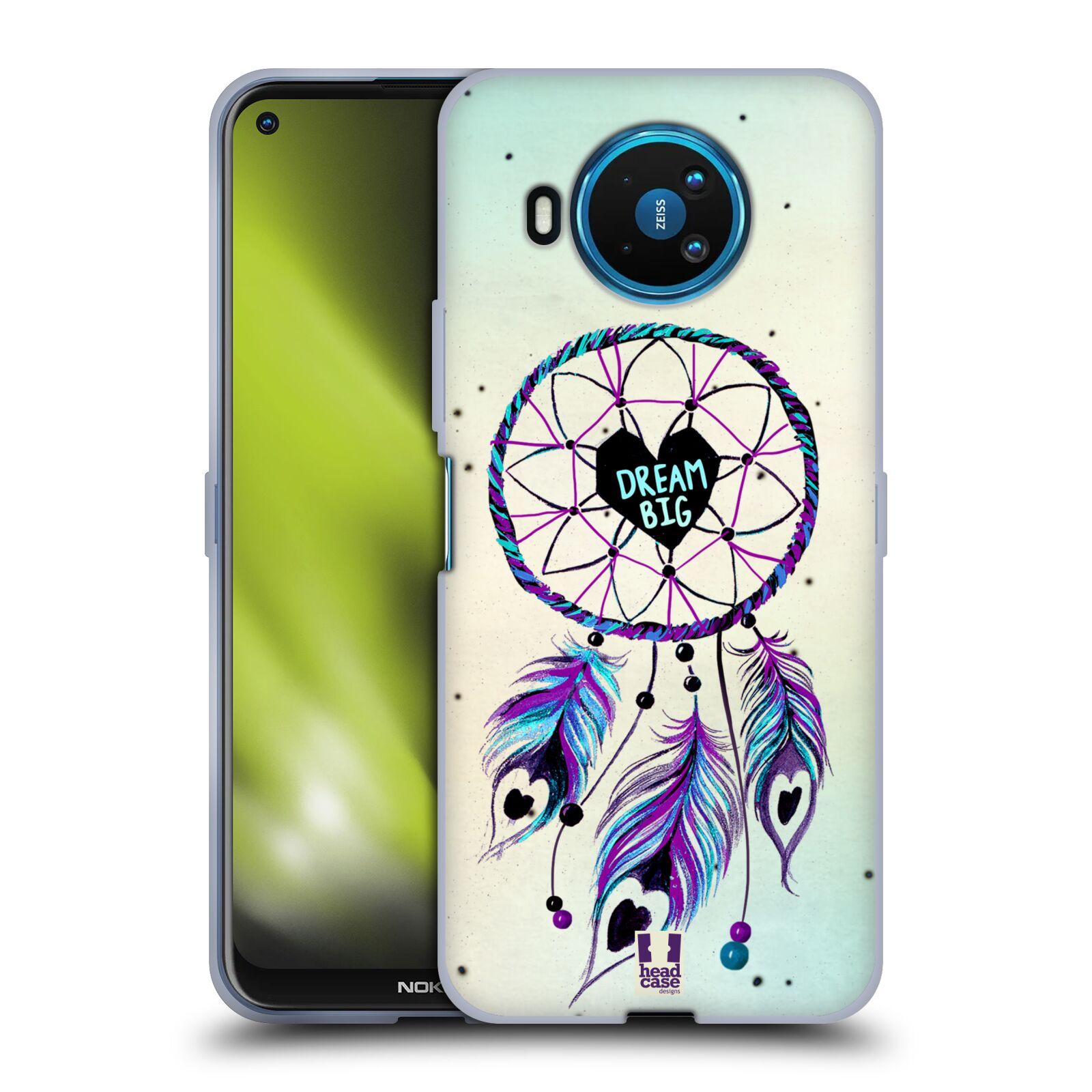 Silikonové pouzdro na mobil Nokia 8.3 5G - Head Case - Lapač Assorted Dream Big Srdce