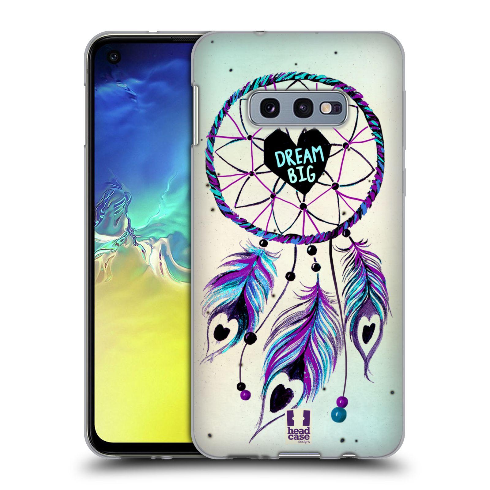 Silikonové pouzdro na mobil Samsung Galaxy S10e - Head Case - Lapač Assorted Dream Big Srdce
