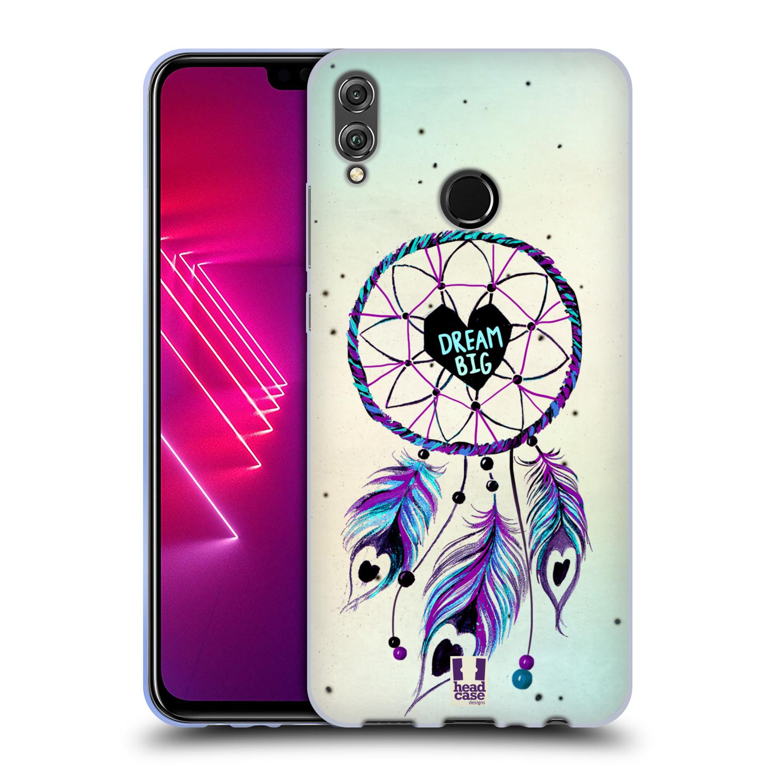 Silikonové pouzdro na mobil Honor 8X - Head Case - Lapač Assorted Dream Big Srdce