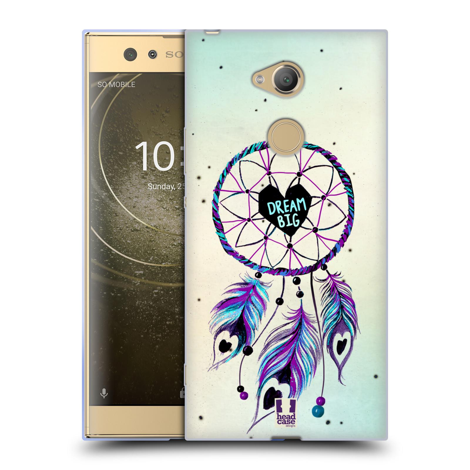 Silikonové pouzdro na mobil Sony Xperia XA2 Ultra - Head Case - Lapač Assorted Dream Big Srdce