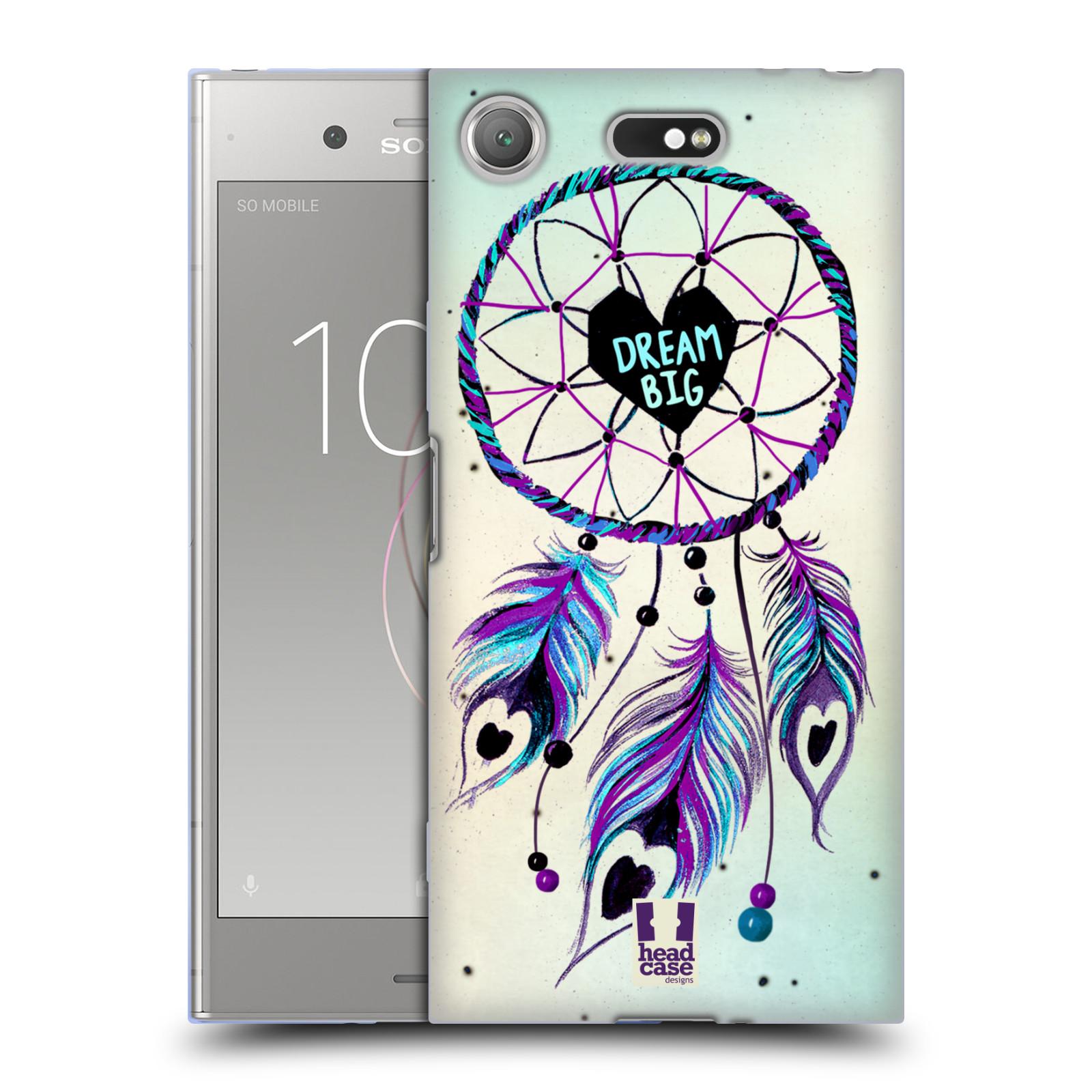Silikonové pouzdro na mobil Sony Xperia XZ1 Compact - Head Case - Lapač Assorted Dream Big Srdce