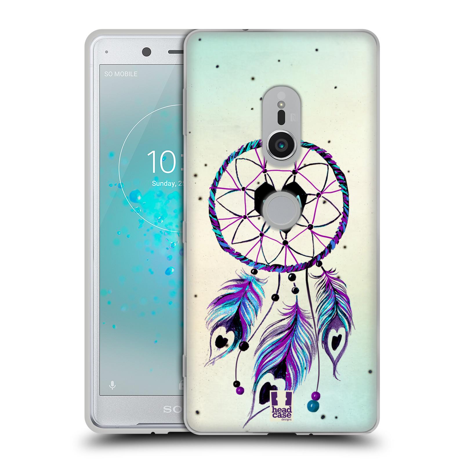 Silikonové pouzdro na mobil Sony Xperia XZ2 - Head Case - Lapač Assorted Dream Big Srdce