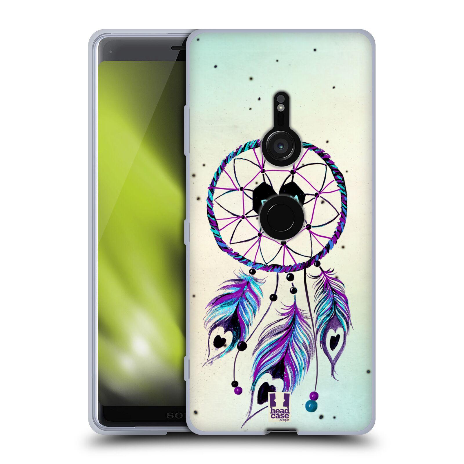 Silikonové pouzdro na mobil Sony Xperia XZ3 - Head Case - Lapač Assorted Dream Big Srdce