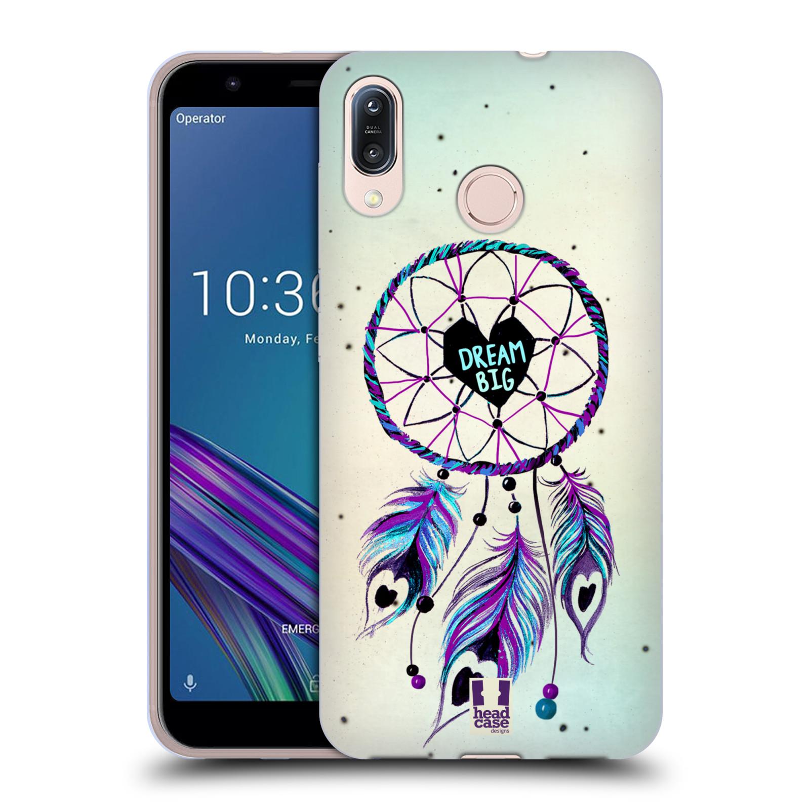 Silikonové pouzdro na mobil Asus Zenfone Max M1 ZB555KL - Head Case - Lapač Assorted Dream Big Srdce