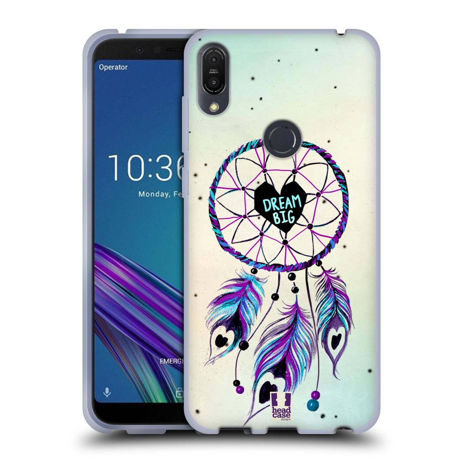 Silikonové pouzdro na mobil Asus ZenFone Max Pro (M1) - Head Case - Lapač Assorted Dream Big Srdce