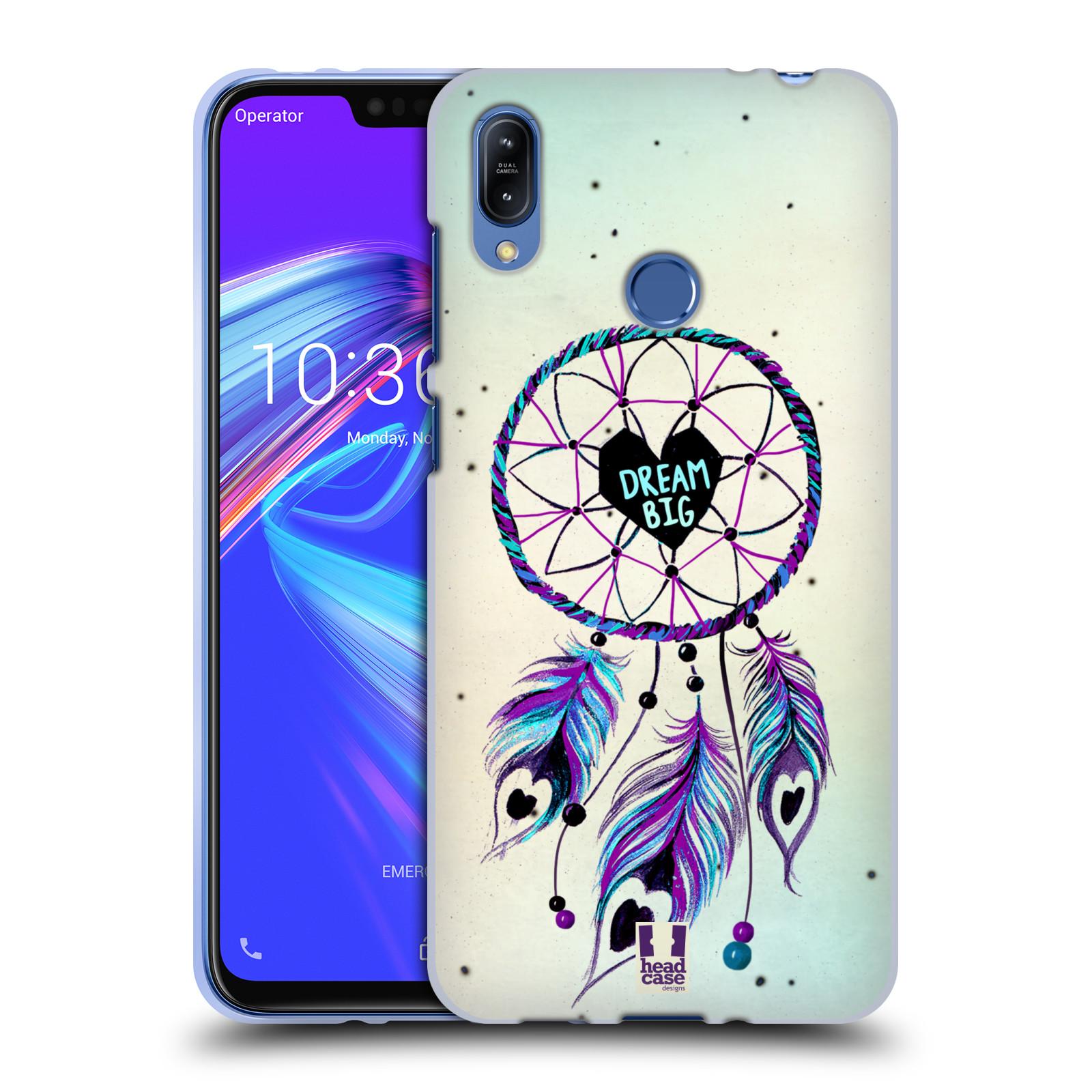 Silikonové pouzdro na mobil Asus Zenfone Max (M2) ZB633KL - Head Case - Lapač Assorted Dream Big Srdce