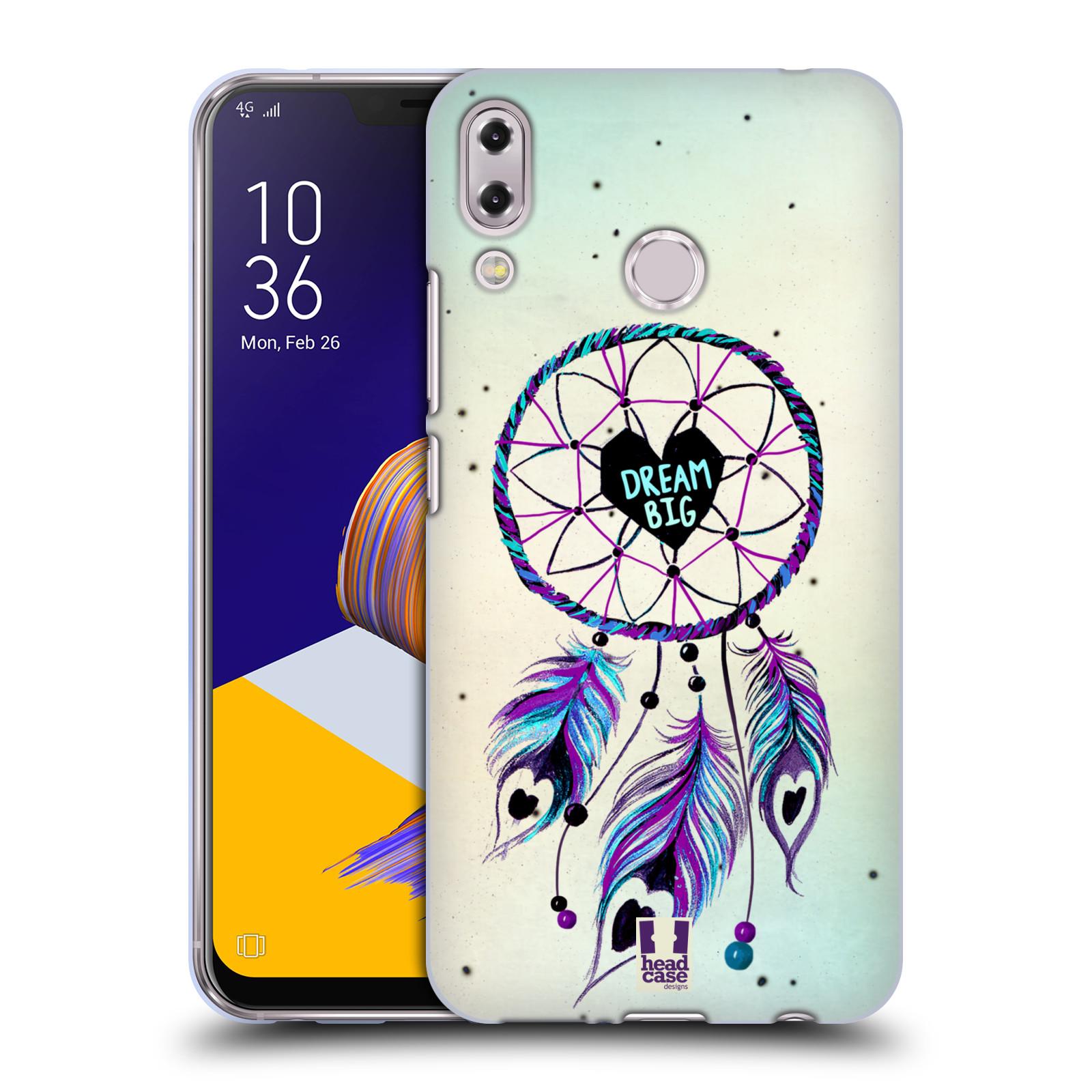 Silikonové pouzdro na mobil Asus ZenFone 5 ZE620KL - Head Case - Lapač Assorted Dream Big Srdce