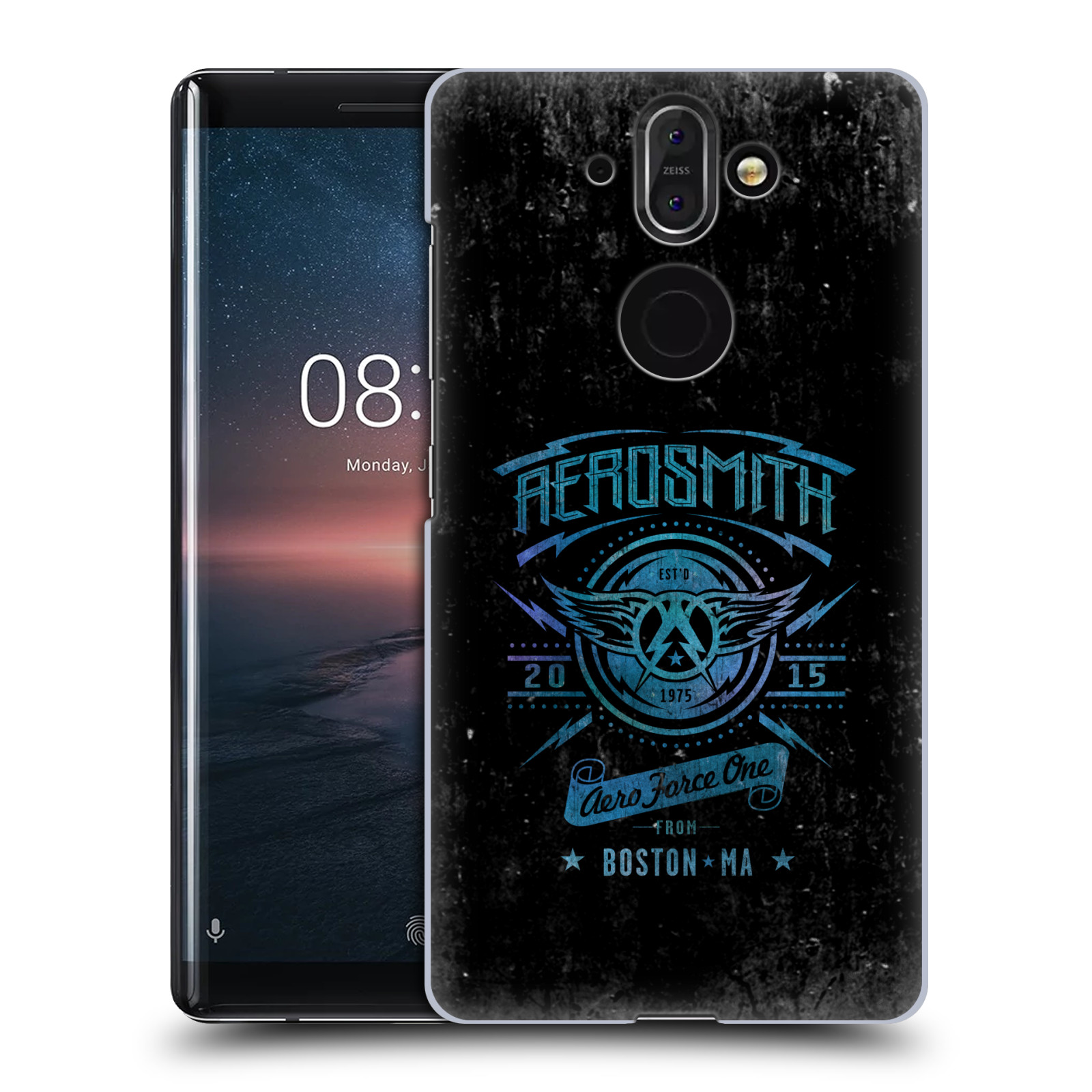 Plastové pouzdro na mobil Nokia 8 Sirocco - Head Case - Aerosmith - Aero Force One