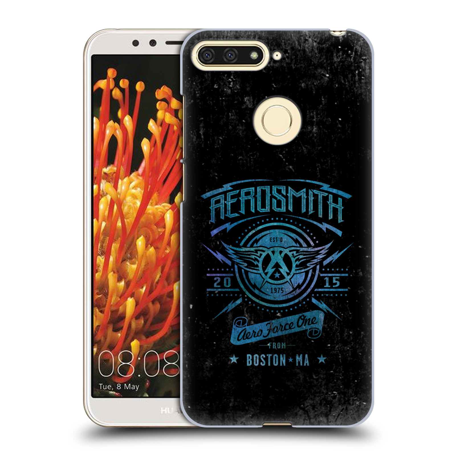 Plastové pouzdro na mobil Honor 7A - Head Case - Aerosmith - Aero Force One