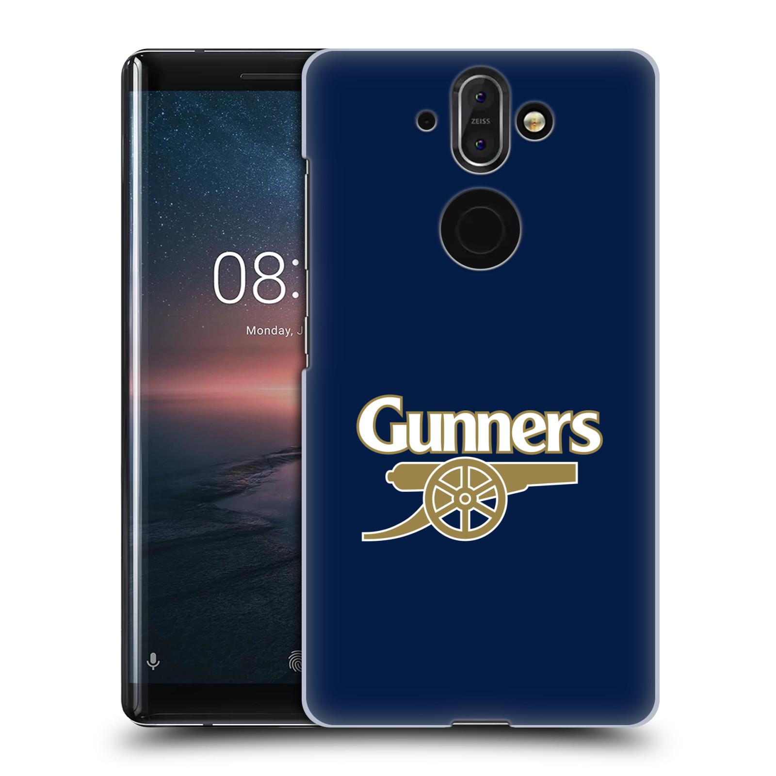 Plastové pouzdro na mobil Nokia 8 Sirocco - Head Case - Arsenal FC - Gunners