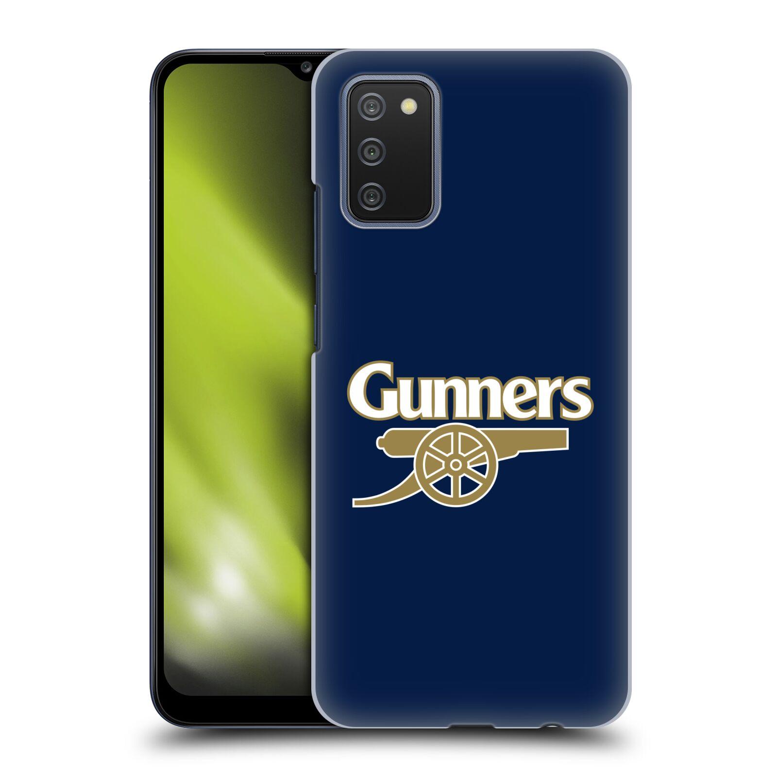 Plastové pouzdro na mobil Samsung Galaxy A02s - Head Case - Arsenal FC - Gunners