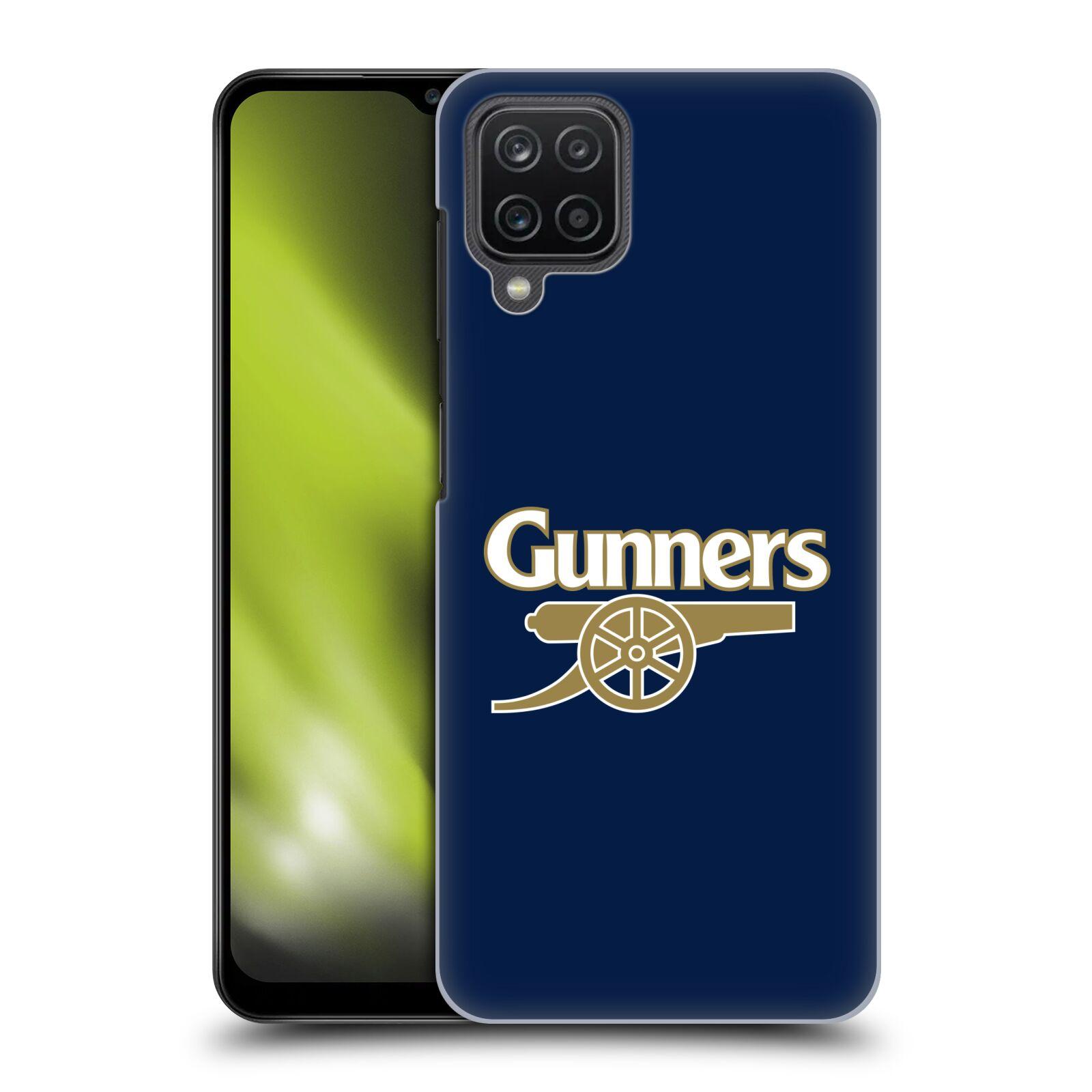Plastové pouzdro na mobil Samsung Galaxy A12 - Head Case - Arsenal FC - Gunners