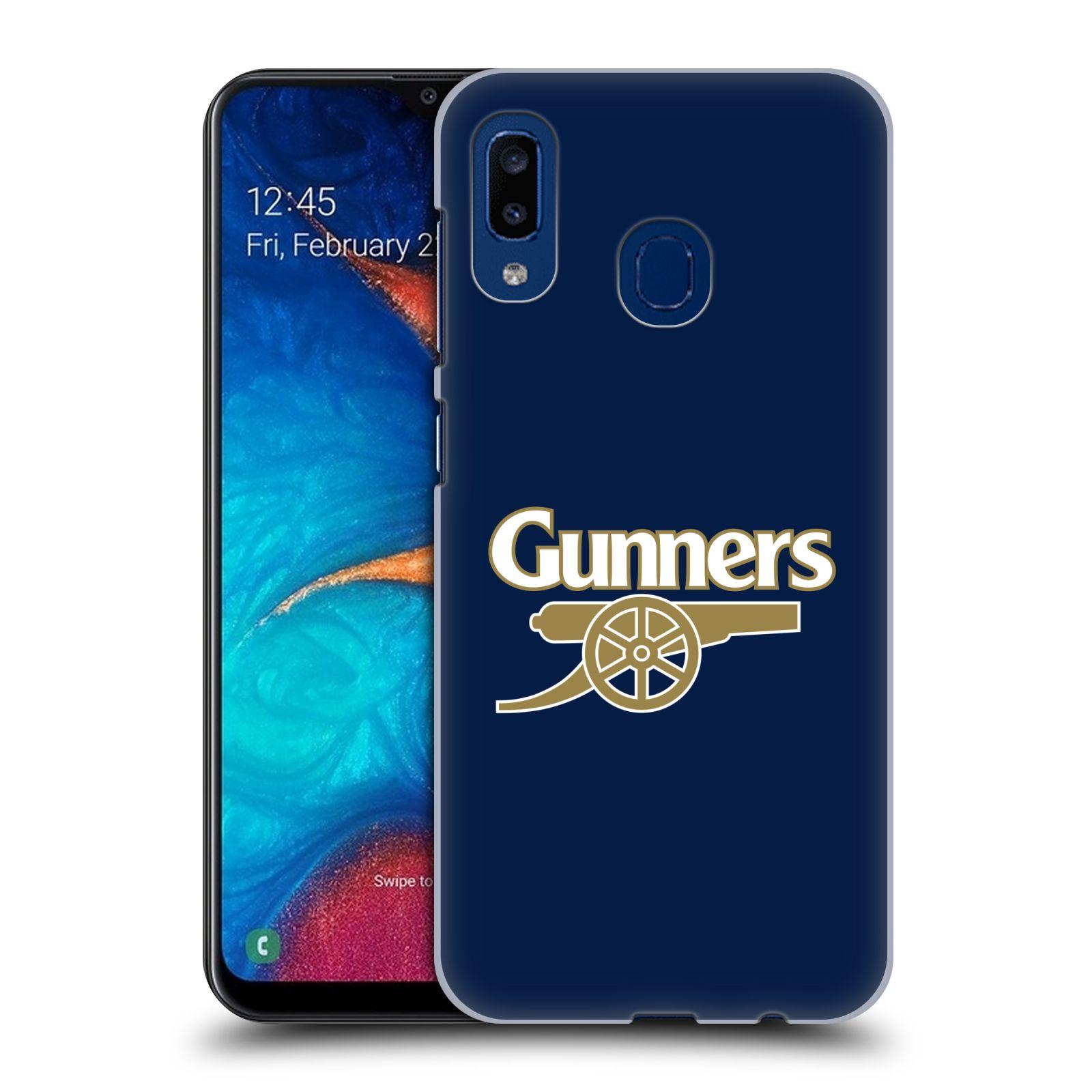 Plastové pouzdro na mobil Samsung Galaxy A20 - Head Case - Arsenal FC - Gunners